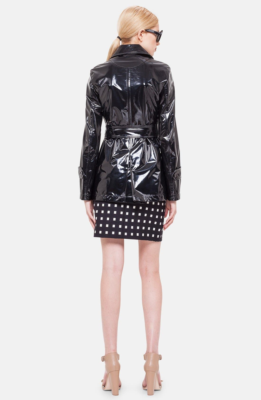 Alternate Image 2  - Akris punto Lacquered Trench Coat