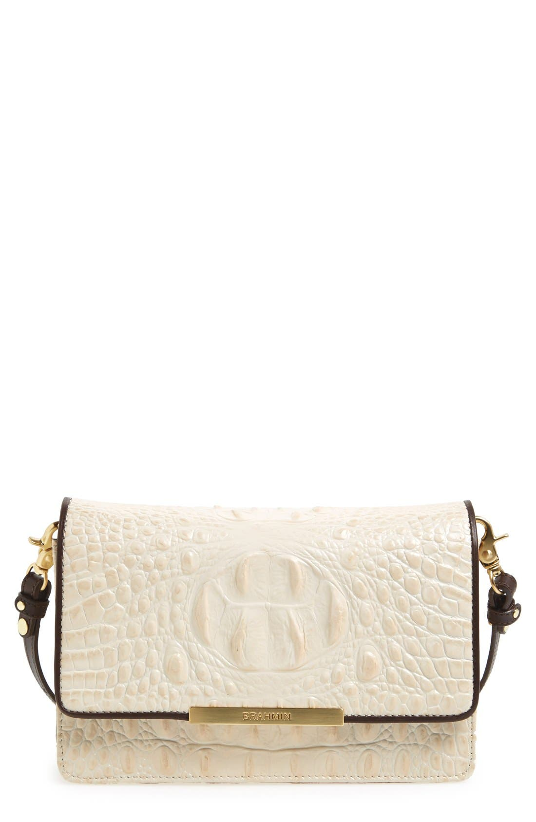 Alternate Image 1 Selected - Brahmin 'Hudson' Convertible Crossbody Bag