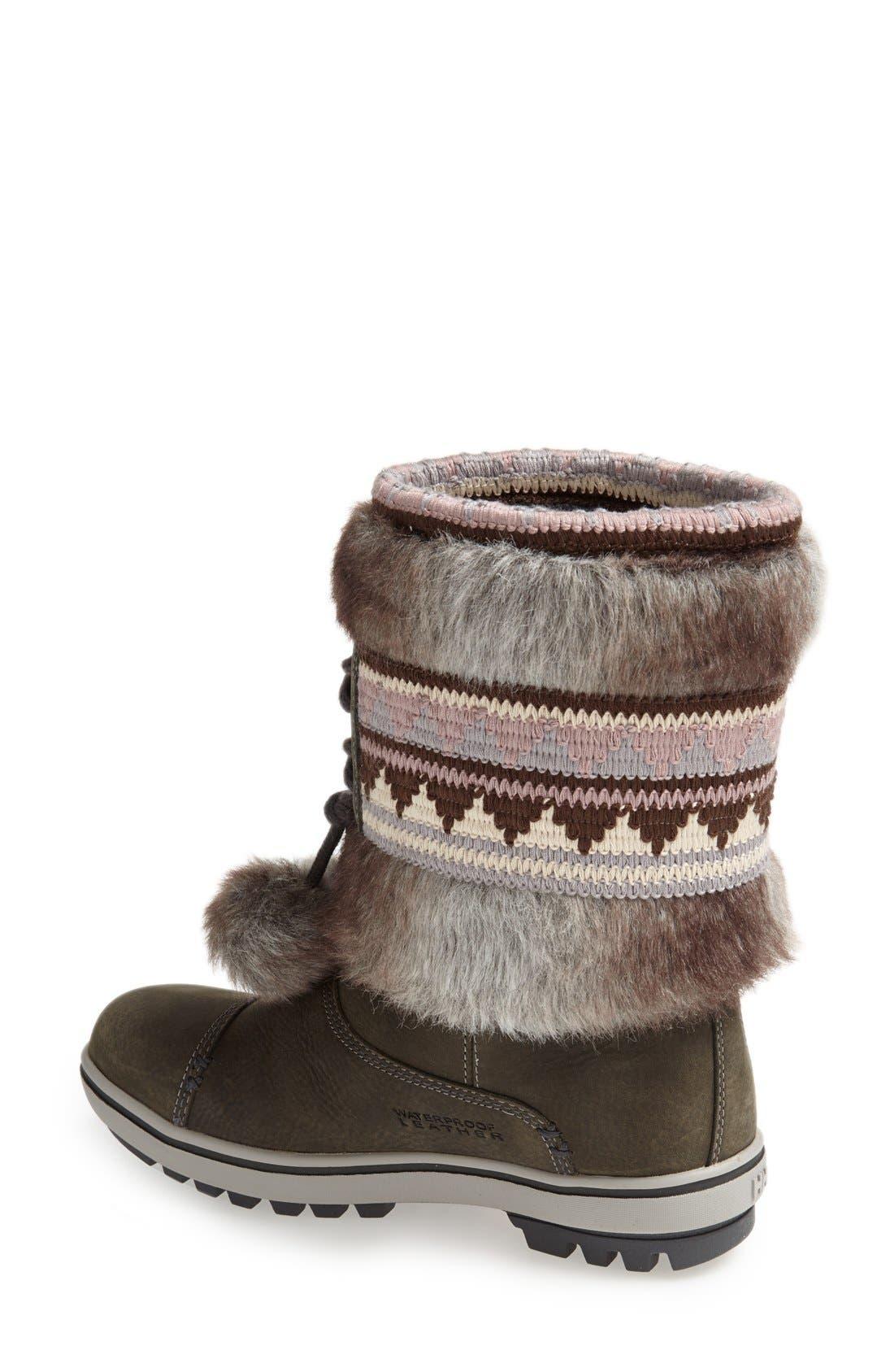 Alternate Image 2  - Helly Hansen 'Iskoras' Waterproof Leather Snow Boot (Women)
