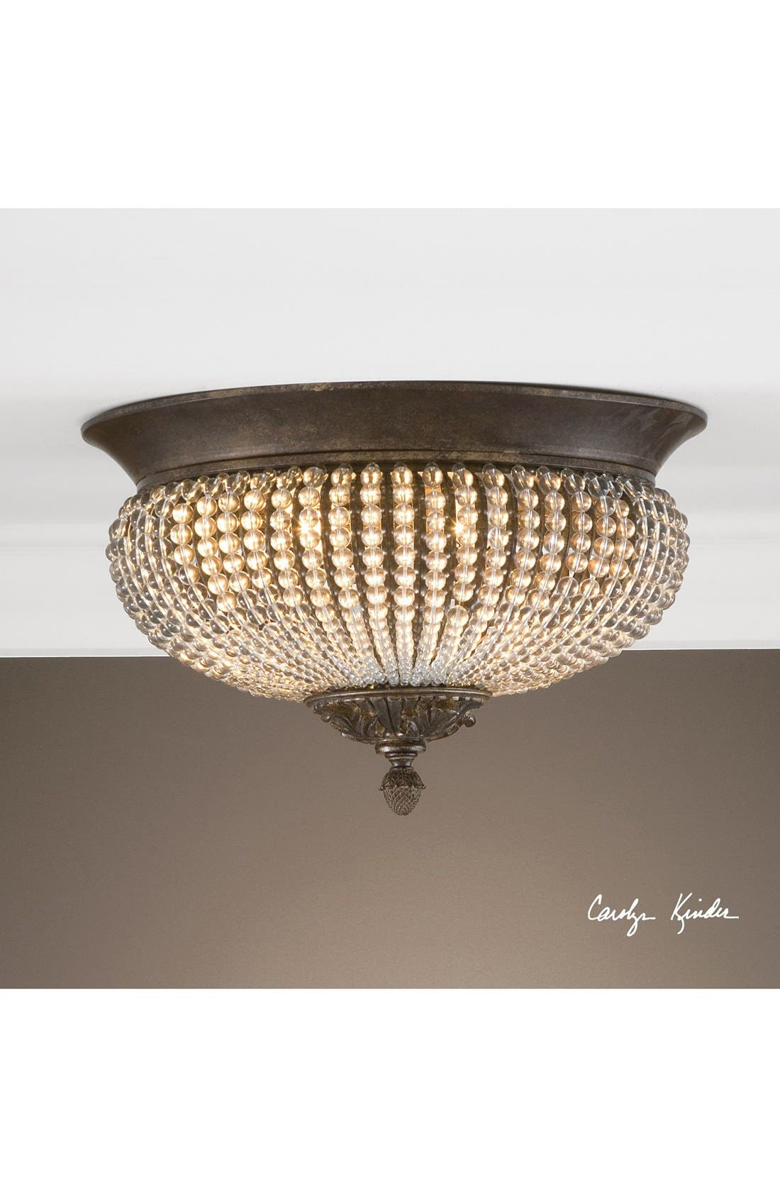 Alternate Image 2  - Uttermost 'Cristal de Lisbon' Ceiling Light