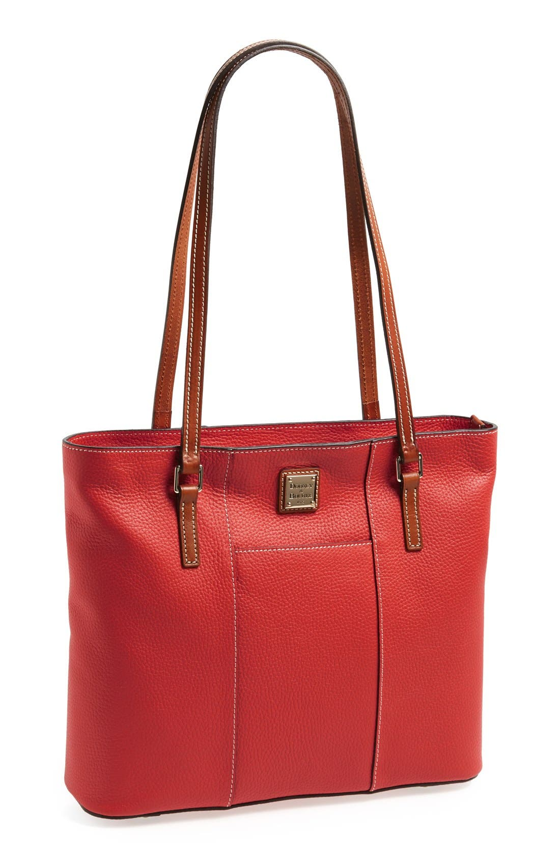 Main Image - Dooney & Bourke 'Lexington - Pebble Grain Collection' Water Resistant Tumbled Leather Shopper