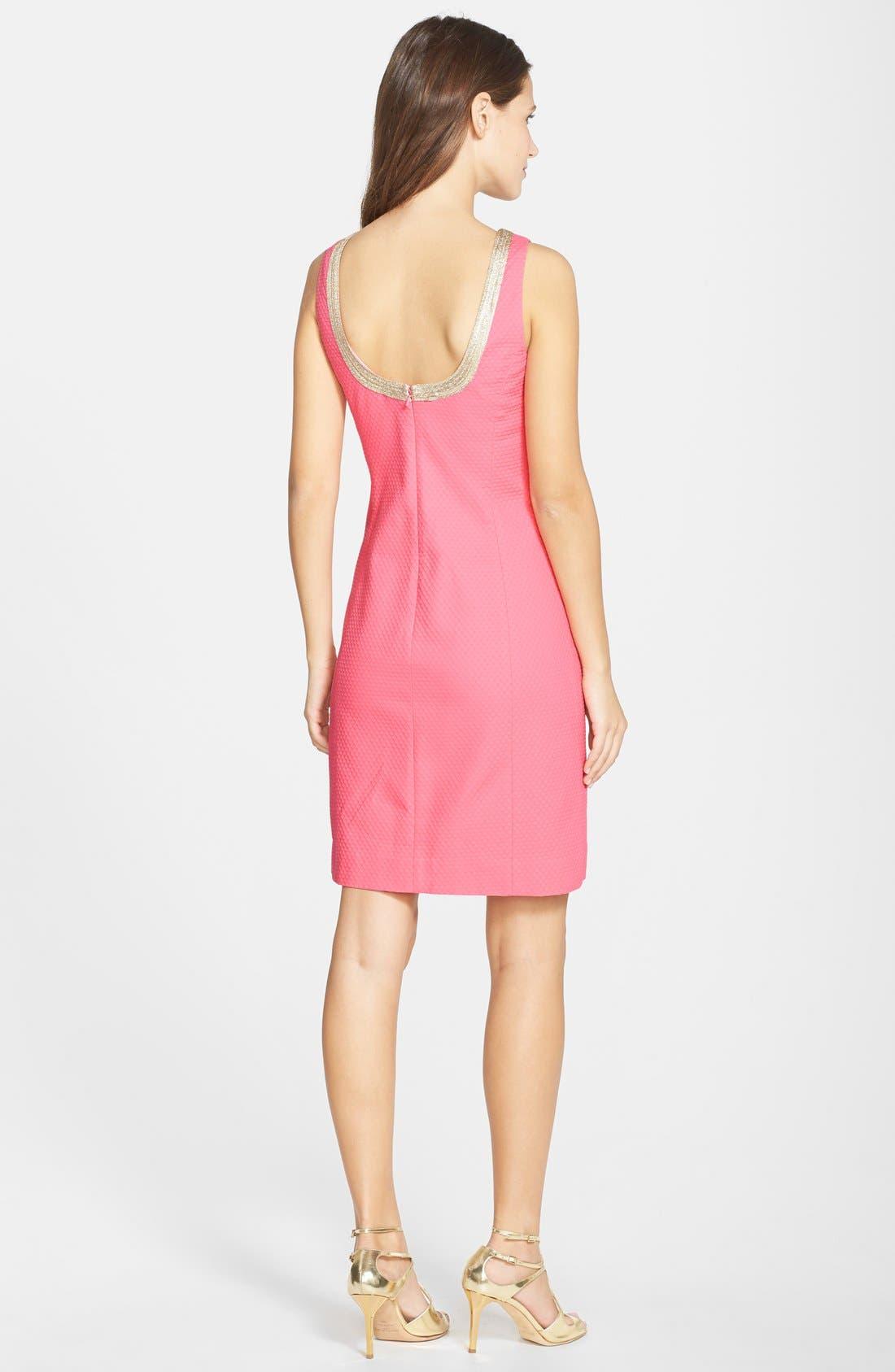 Alternate Image 2  - Lilly Pulitzer® 'Janice' Soutache Trim Shift Dress