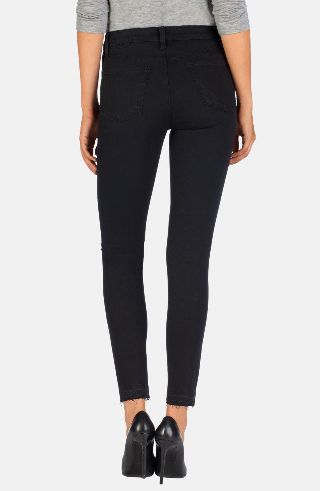 Alternate Image 2  - J Brand 'Alana' High Rise Crop Jeans (Offbeat)