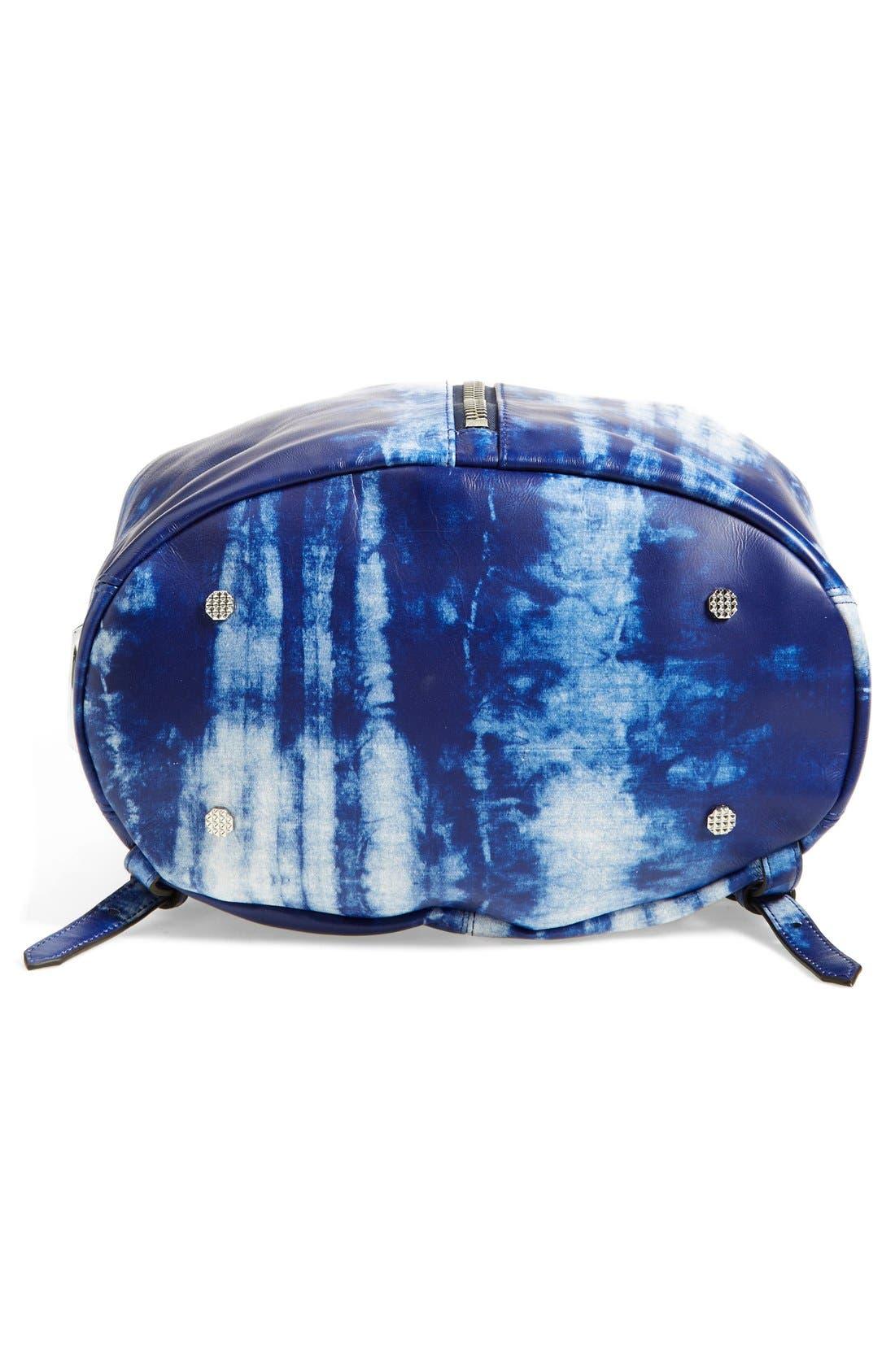 Alternate Image 5  - Elizabeth and James 'Cynnie' Tie Dye Sling Backpack