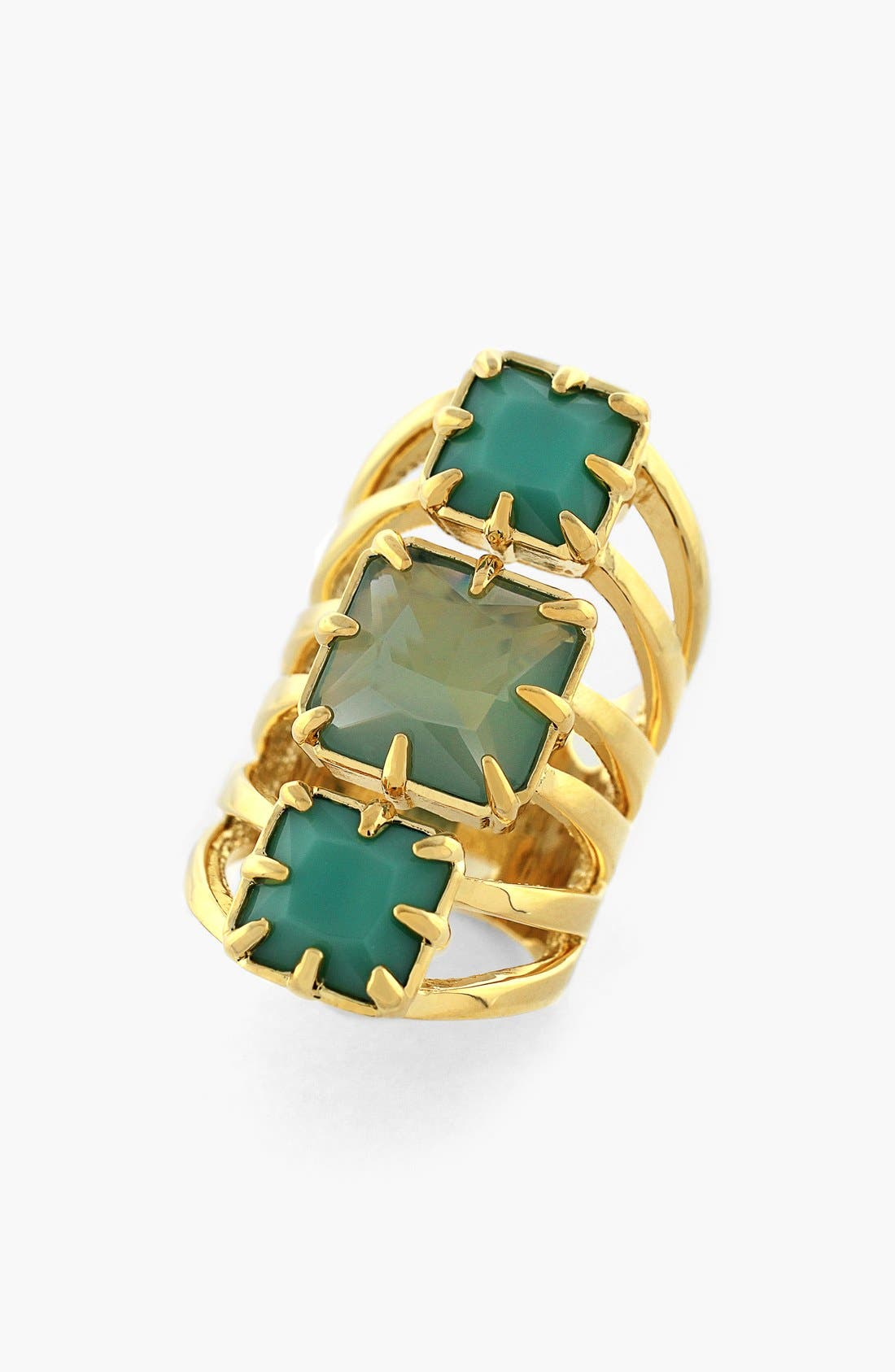 Alternate Image 1 Selected - Vince Camuto Stone Cutout Cocktail Ring