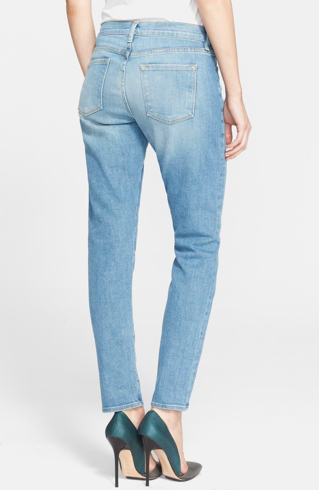 Alternate Image 2  - Frame Denim 'Le Garcon' Boyfriend Jeans (Exmouth)