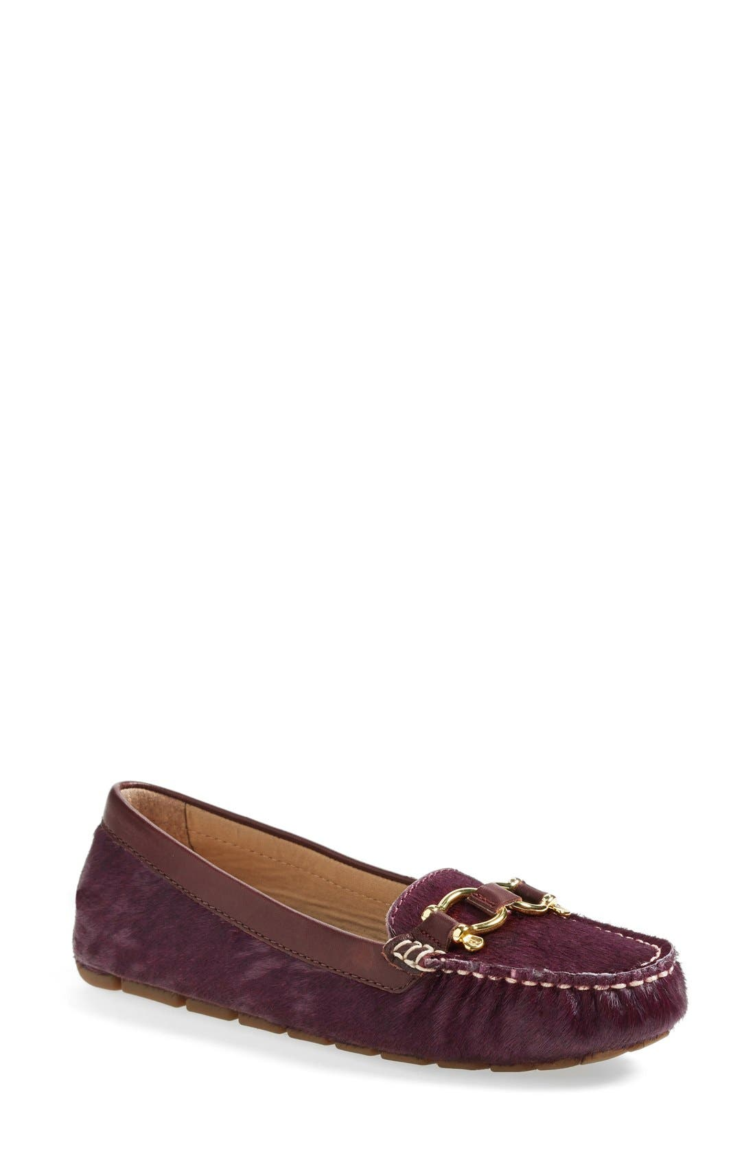 Alternate Image 1 Selected - Sperry Top-Sider® 'Jenna' Metallic Leather Loafer (Online Only) (Women)