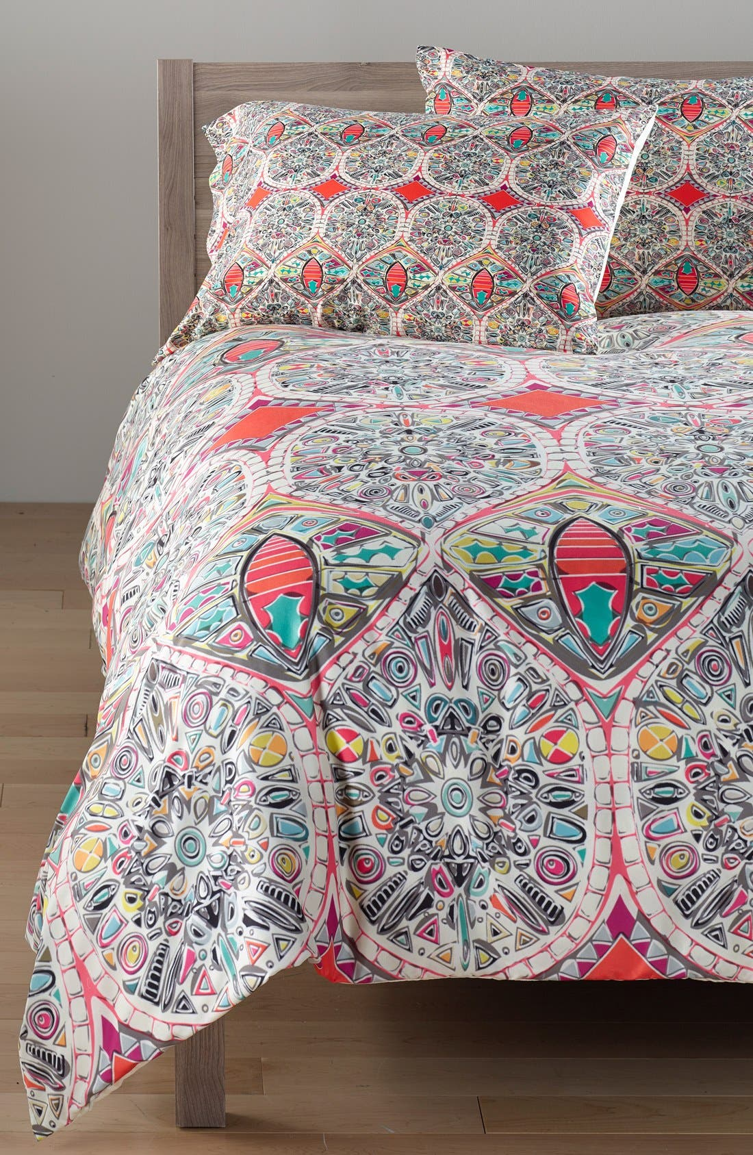 Alternate Image 1 Selected - DENY Designs Sharon Turner Holly Duvet Cover & Sham Set