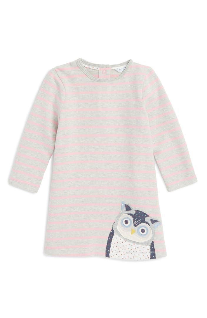 Mini boden cozy appliqu dress baby girls toddler girls for Shop mini boden