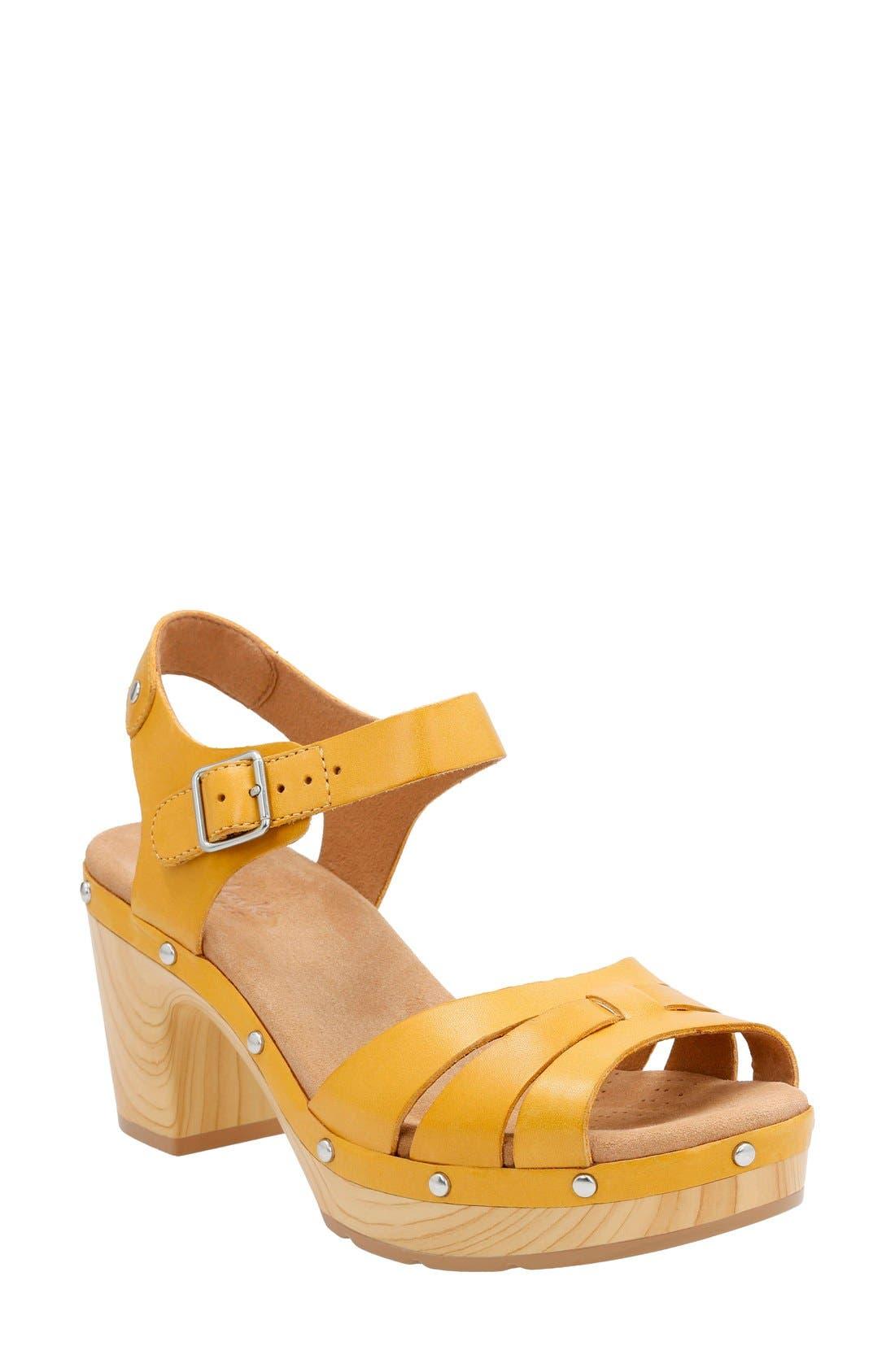 CLARKS® 'Ledella Trail' Sandal