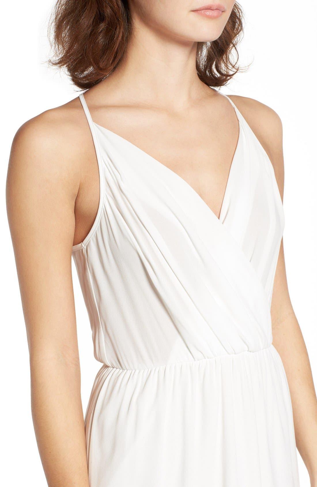 Alternate Image 4  - Lush Surplice Camisole Dress