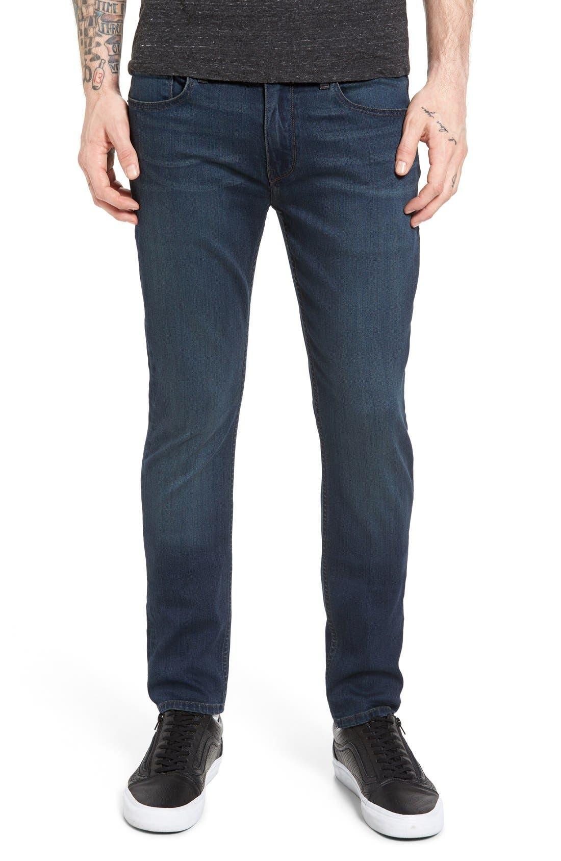PAIGE Croft Skinny Fit Jeans (Corbin)