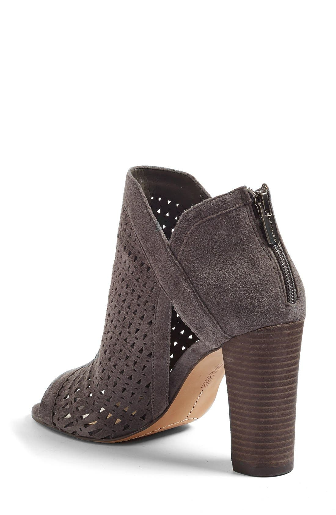 Alternate Image 2  - Vince Camuto Cranita Perforated Bootie (Women)