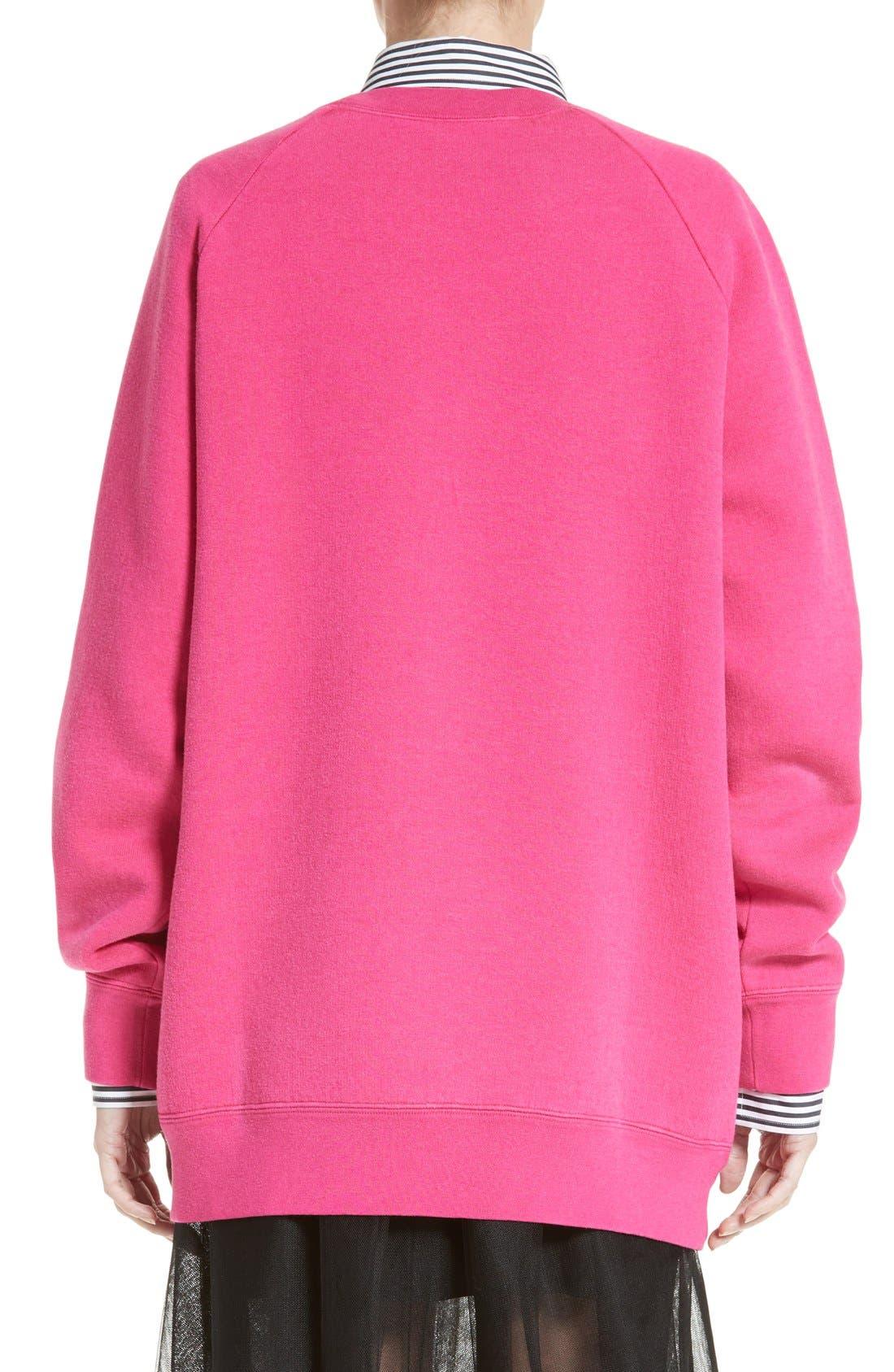 Alternate Image 2  - MARC JACOBS x MTV Logo Sweatshirt