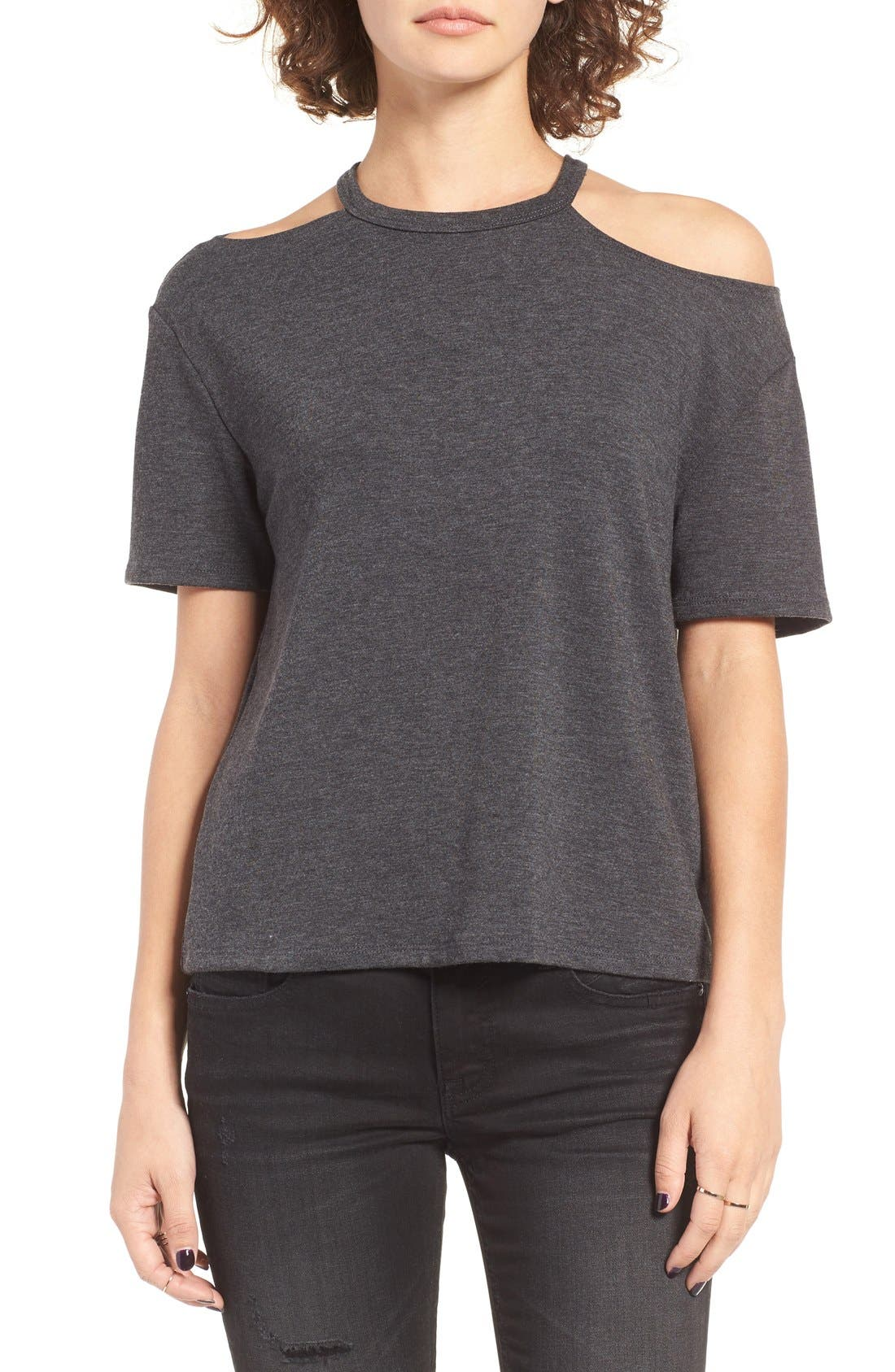 Main Image - Michelle by Comune Fairfield Cold Shoulder Tee