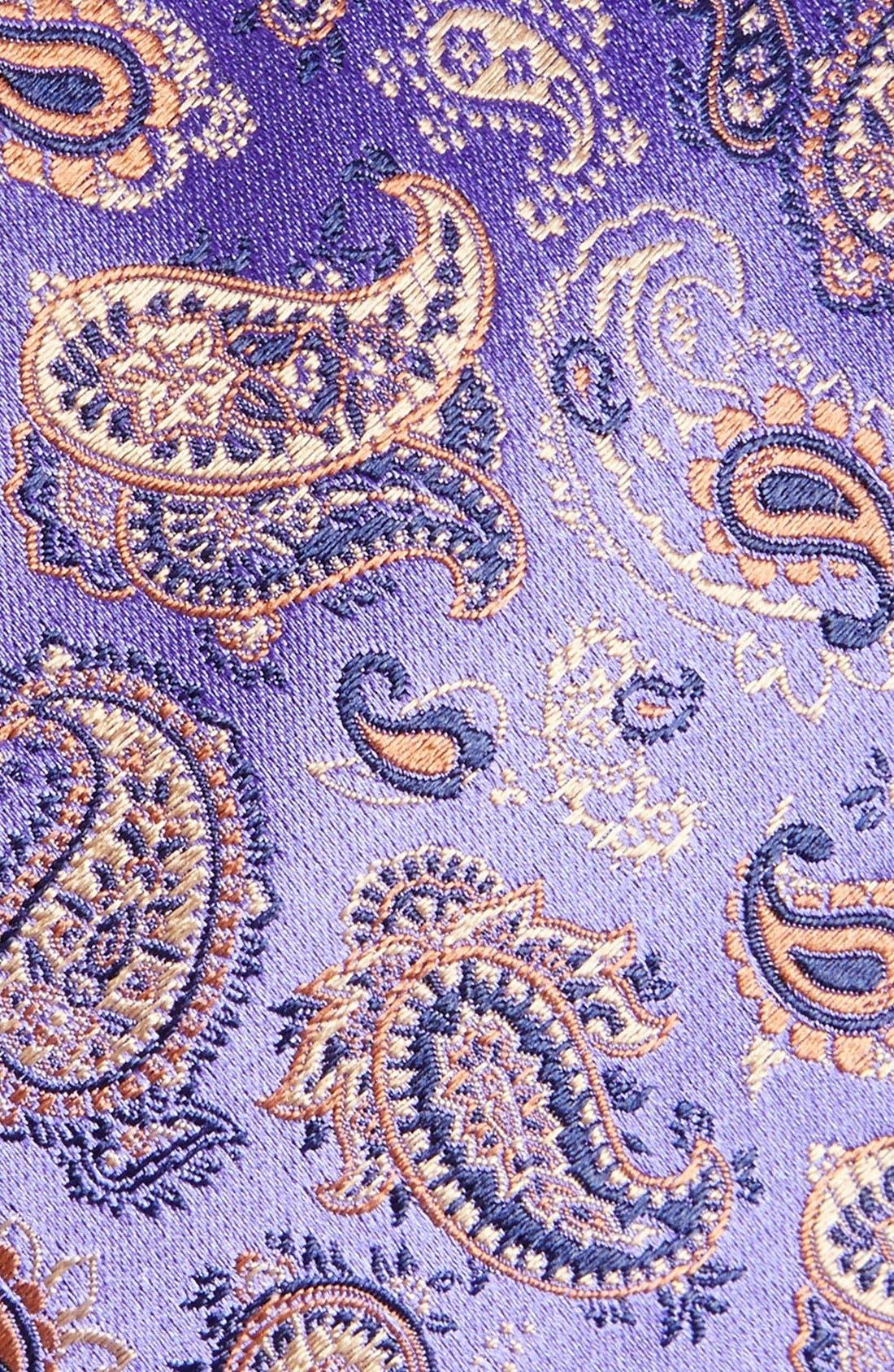 Alternate Image 2  - Eton Paisley Silk Tie