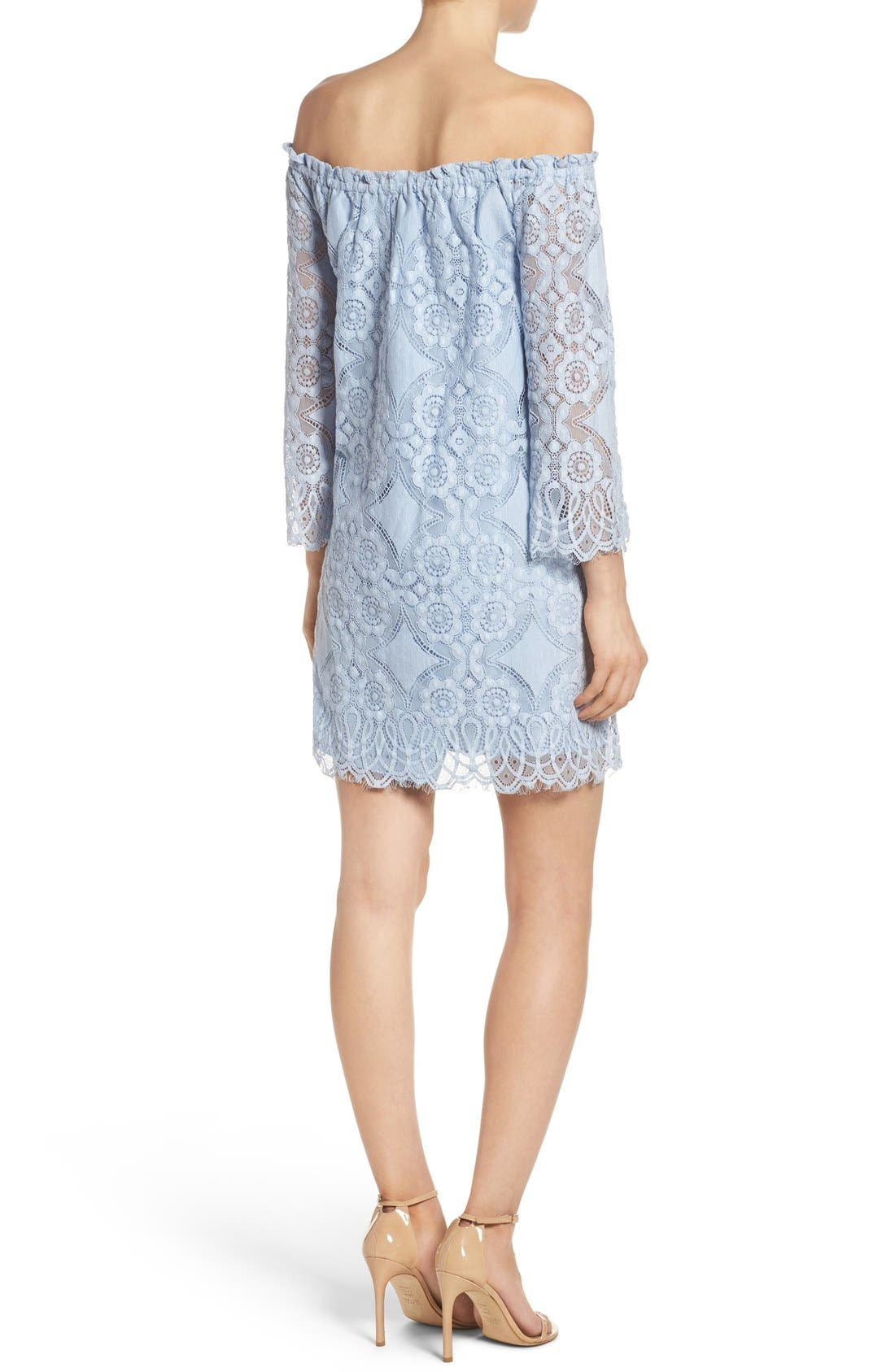 Alternate Image 2  - BB Dakota Halden A-Line Dress