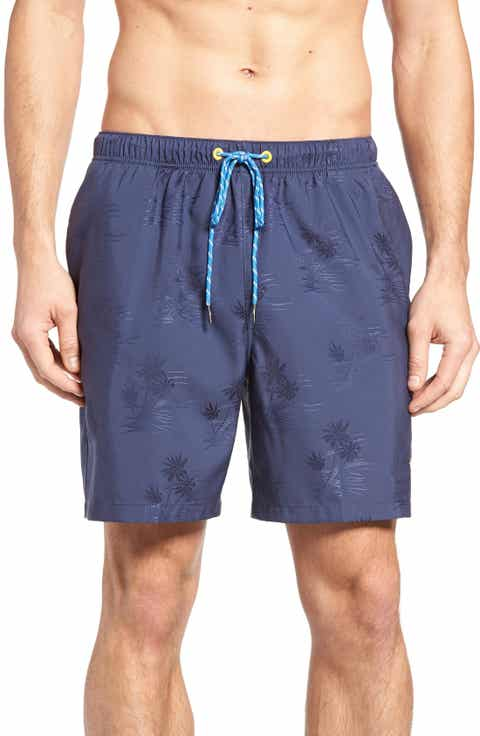 Tommy Bahama Naples - Three Palms Night Swim Trunks (Big   Tall)