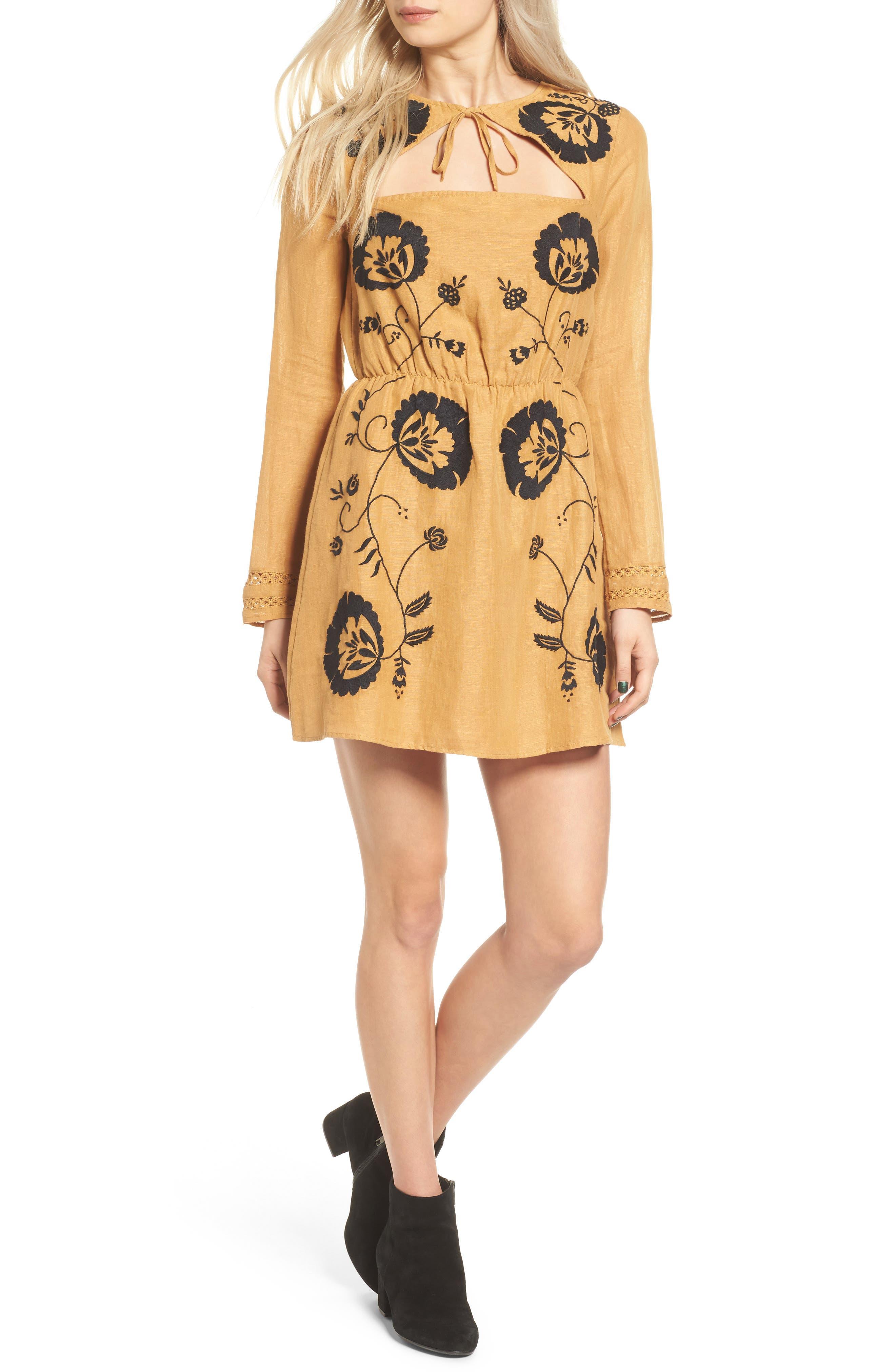 Alternate Image 1 Selected - Tularosa Keeylan Embroidered Dress