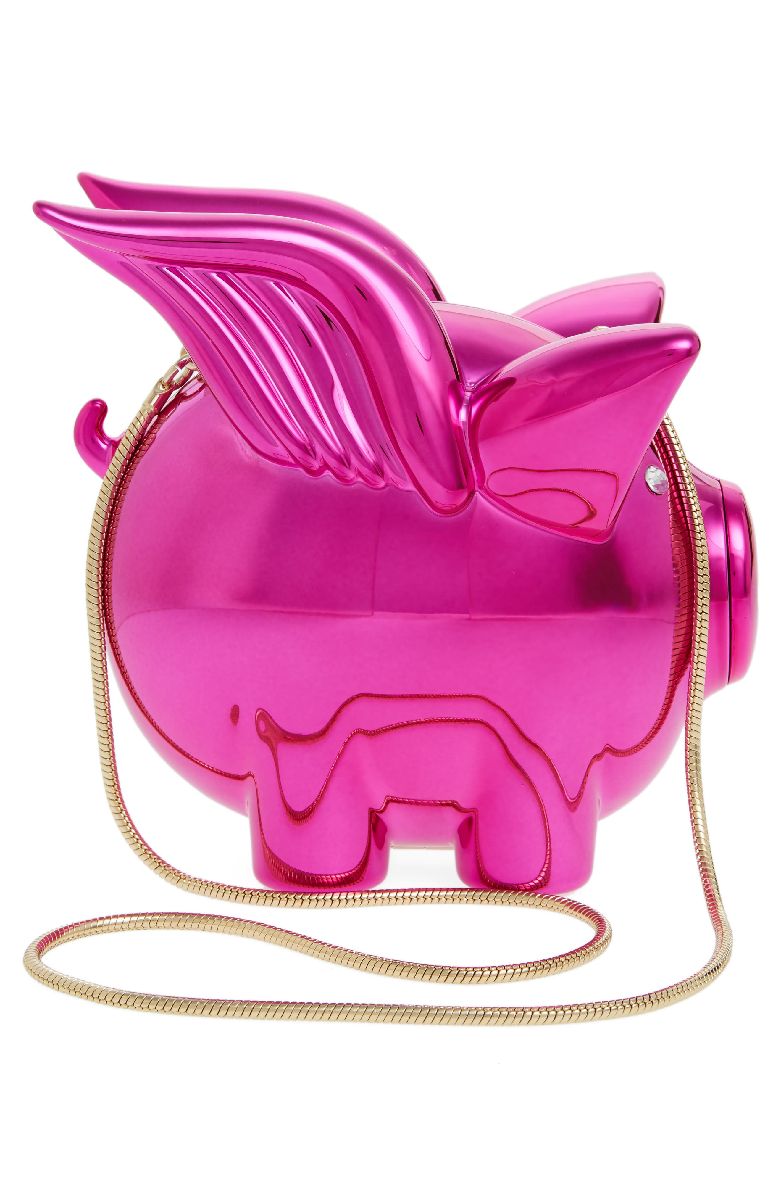Alternate Image 2  - kate spade new york when pigs fly frame clutch