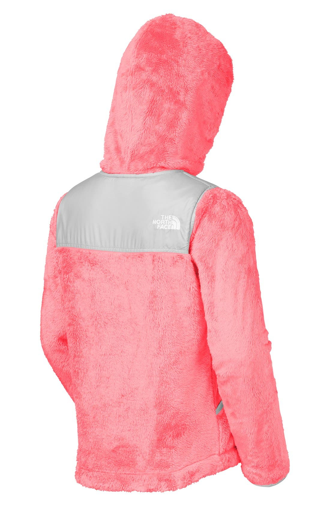 Alternate Image 2  - The North Face 'Oso' Fleece Hoodie (Little Girls)
