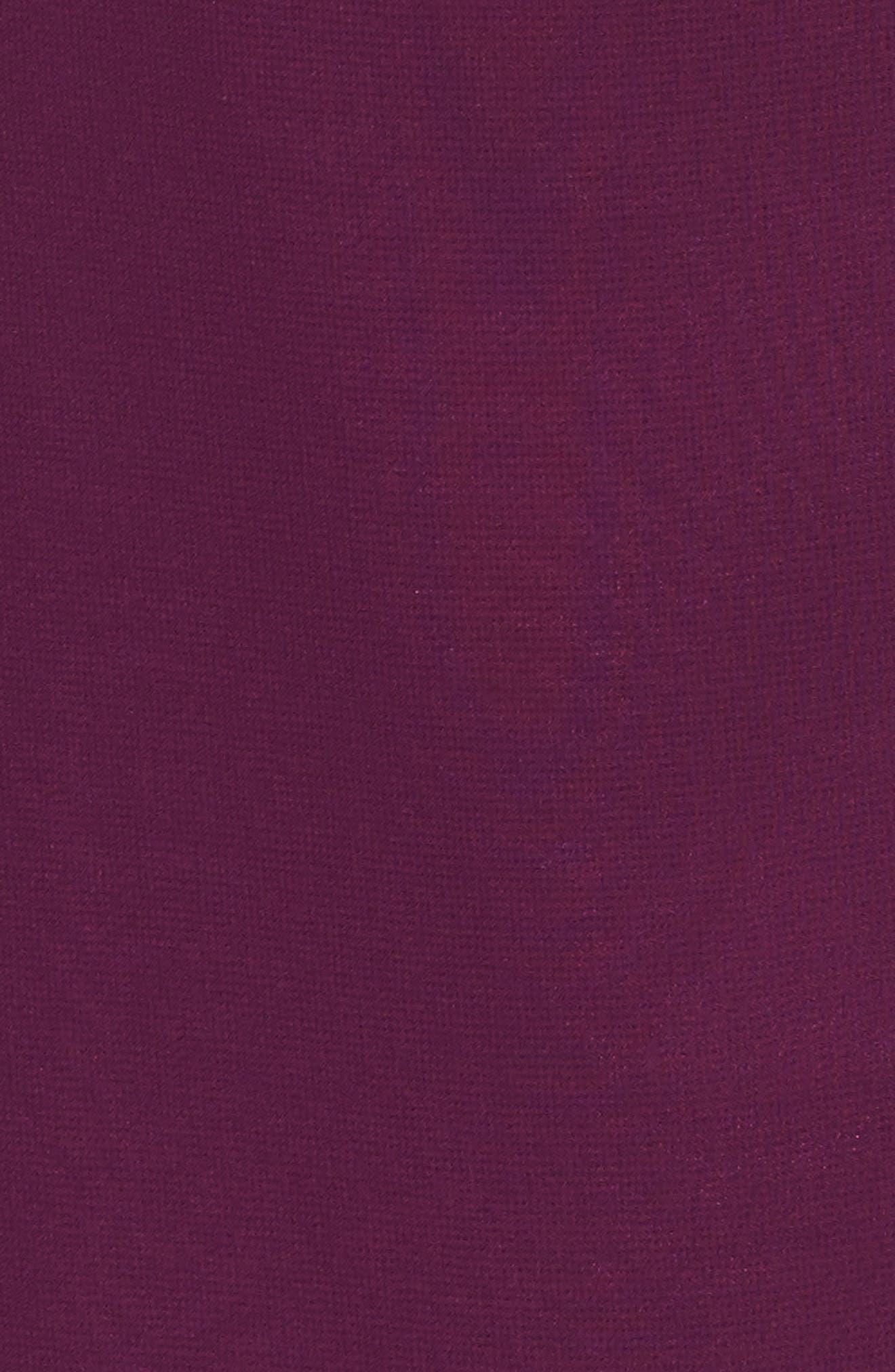 Alternate Image 6  - Ceremony by Joanna August Cold Shoulder Tie Waist Halter Gown