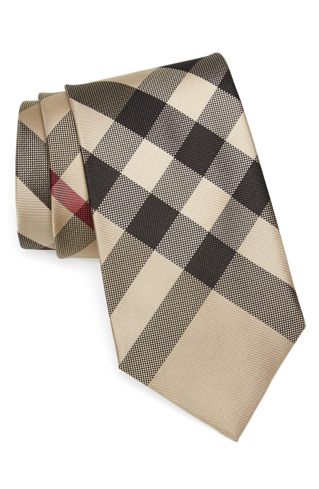 Burberry Clinton Check Silk Tie