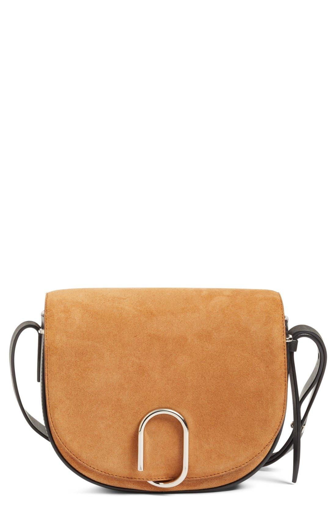 Main Image - 3.1 Phillip Lim Alix Suede Saddle Bag