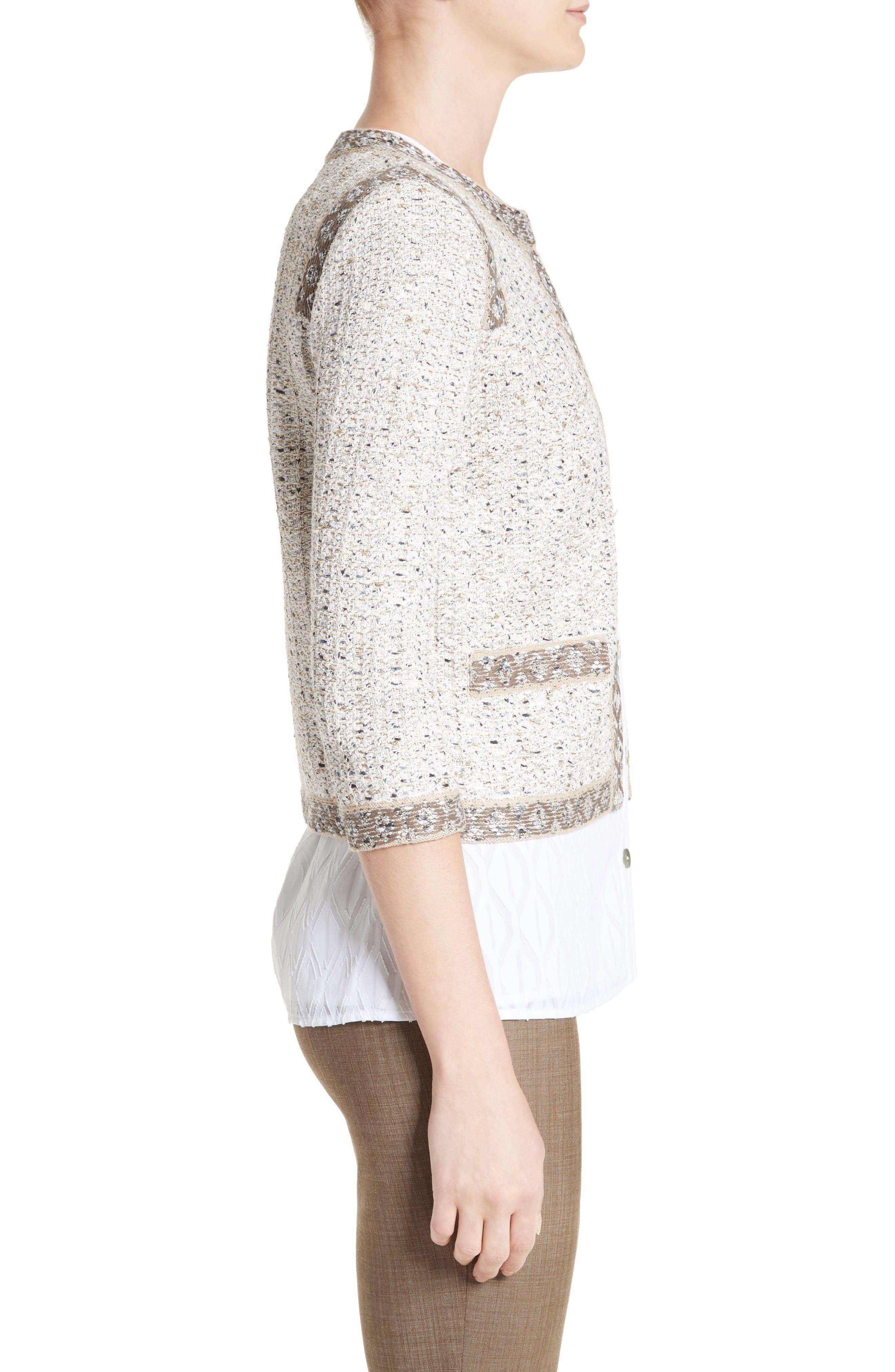Alternate Image 5  - St. John Collection Kira Tweed Jacket