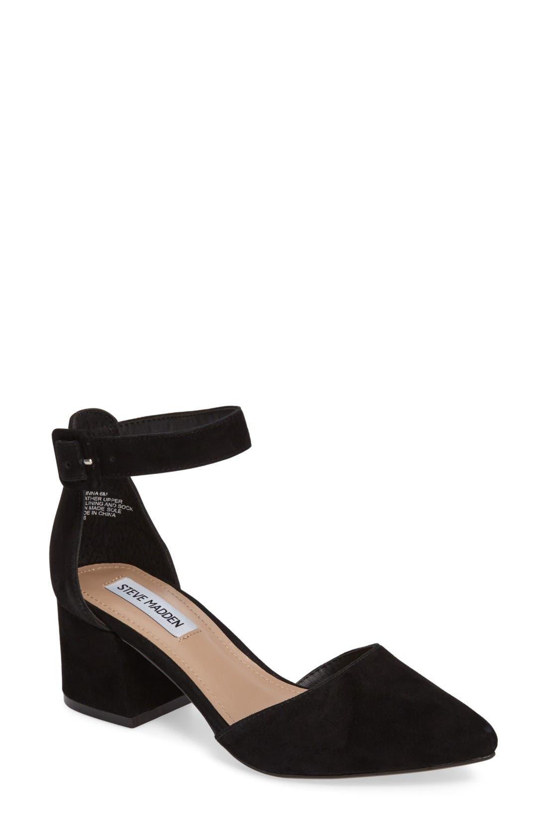 Steve Madden Dainna d'Orsay Ankle Strap Pump (Women ...