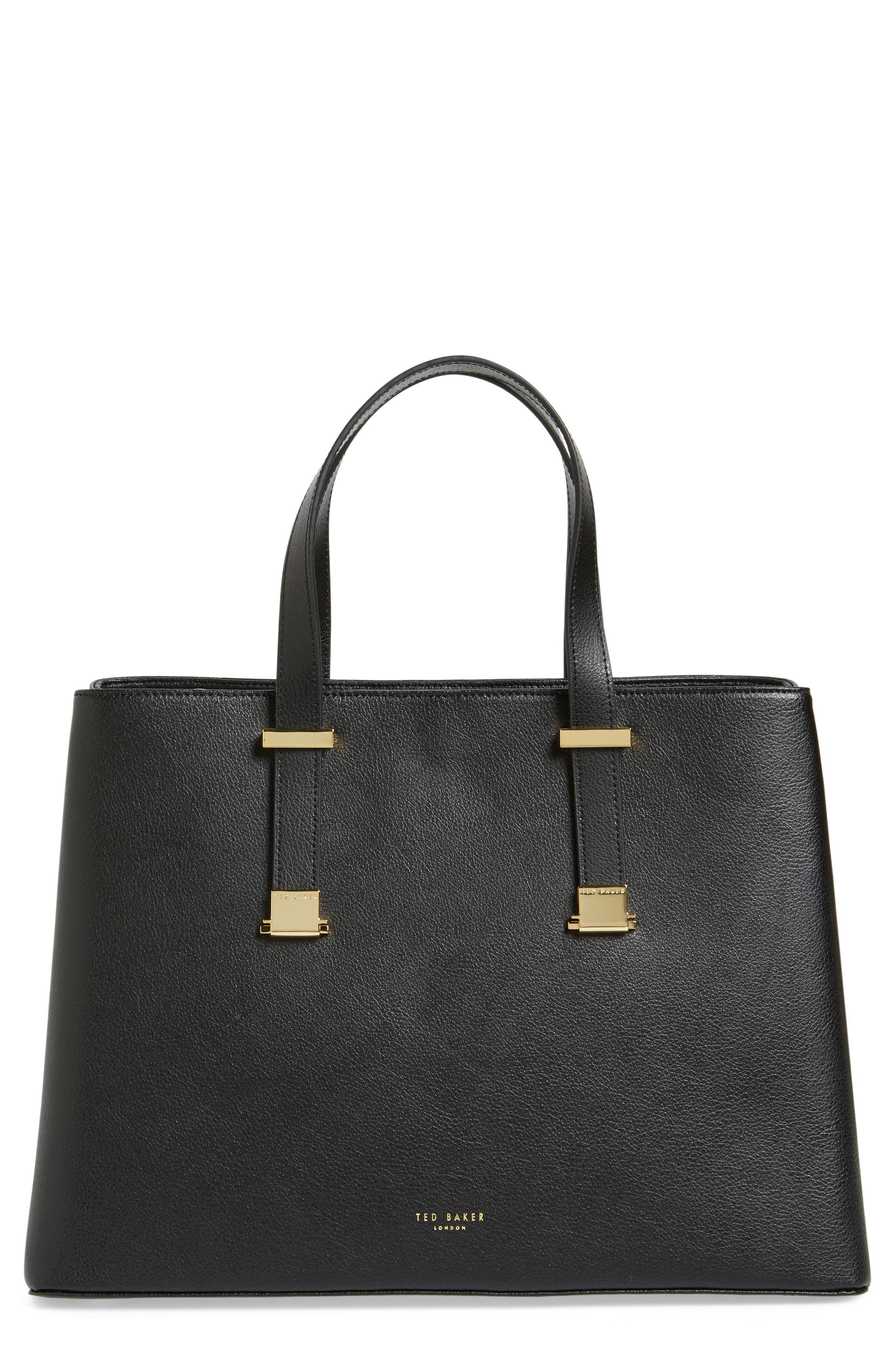 Alternate Image 1 Selected - Ted Baker London Alissaa Leather Tote
