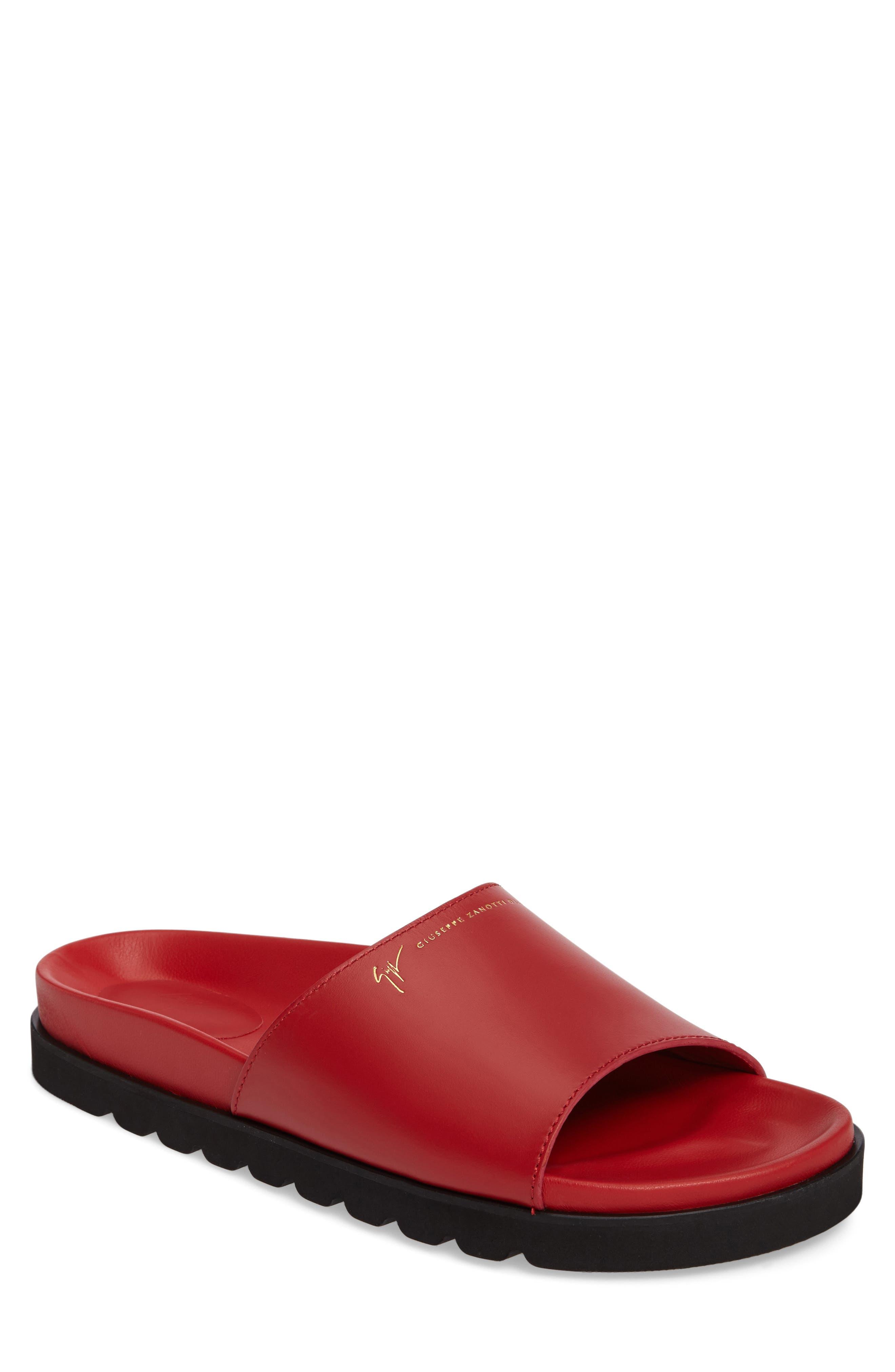 GIUSEPPE ZANOTTI Slide Sandal