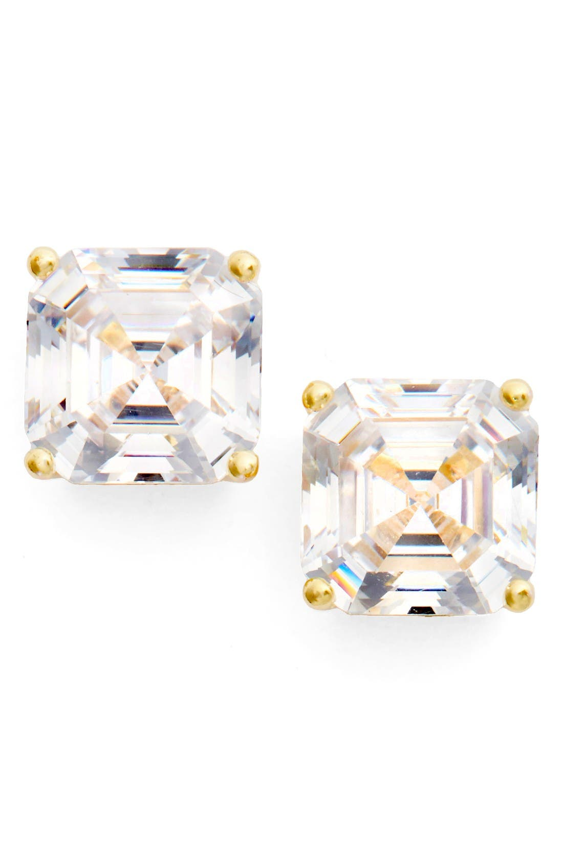 Alternate Image 1 Selected - Nordstrom Cubic Zirconia Stud Earrings