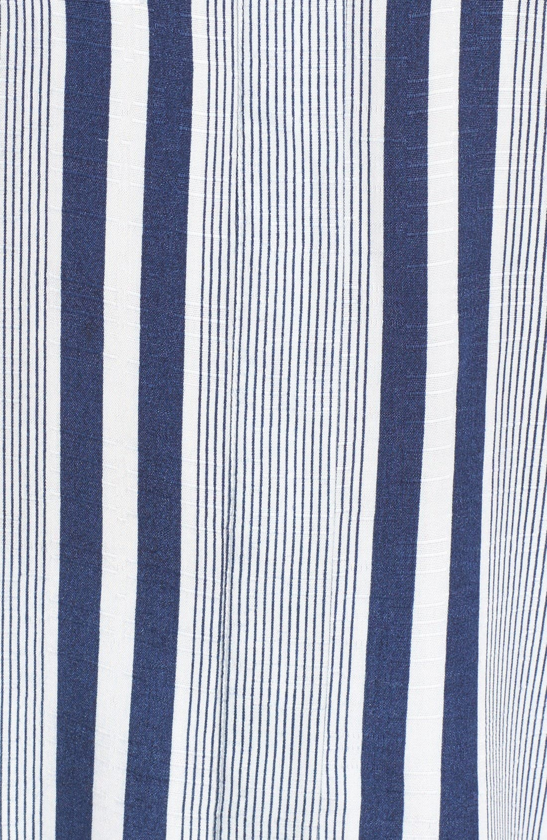 Alternate Image 6  - Two by Vince Camuto Stripe Blouse