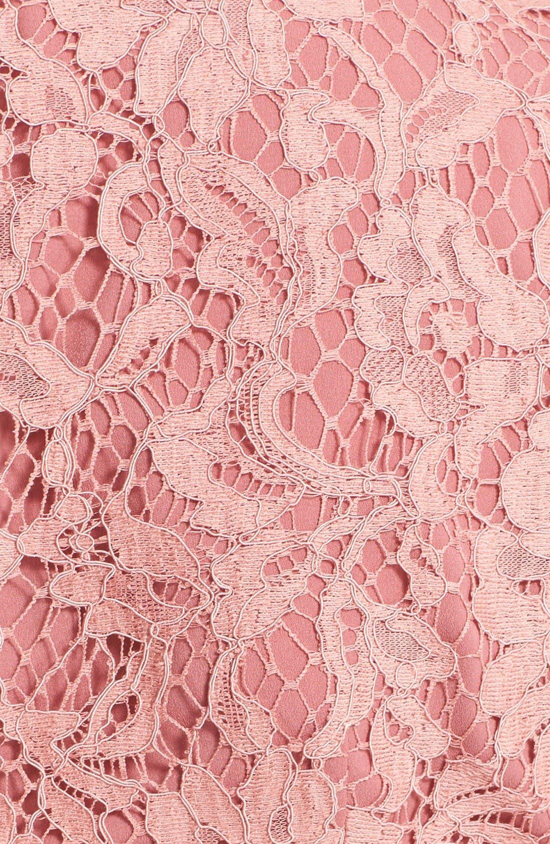 Alternate Image 3  - Burberry Christy Lace Fit & Flare Dress