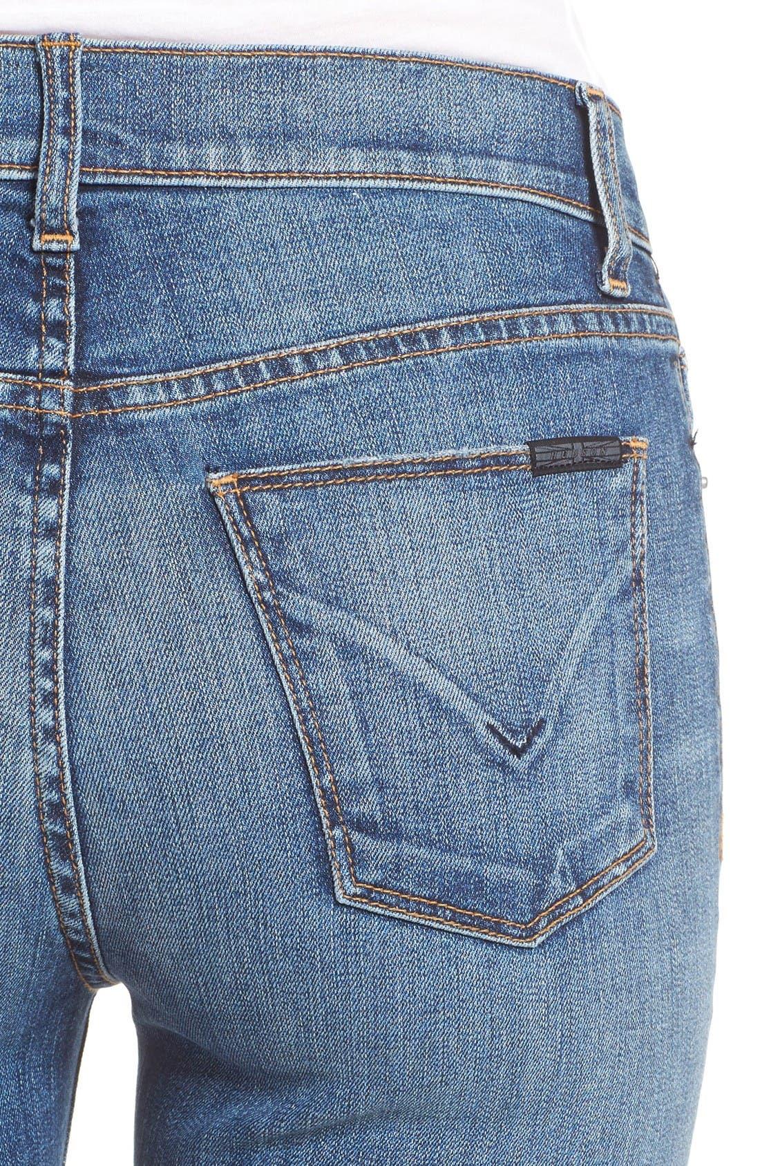 Alternate Image 4  - Hudson Jeans Harper High Waist Crop Flare Jeans (Lifeline)