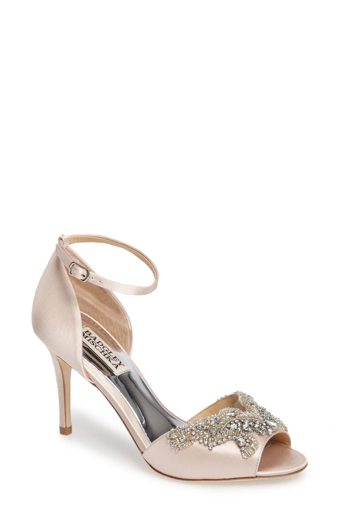 Main Image - Badgley Mischka Barker Ankle Strap d'Orsay Pump (Women)