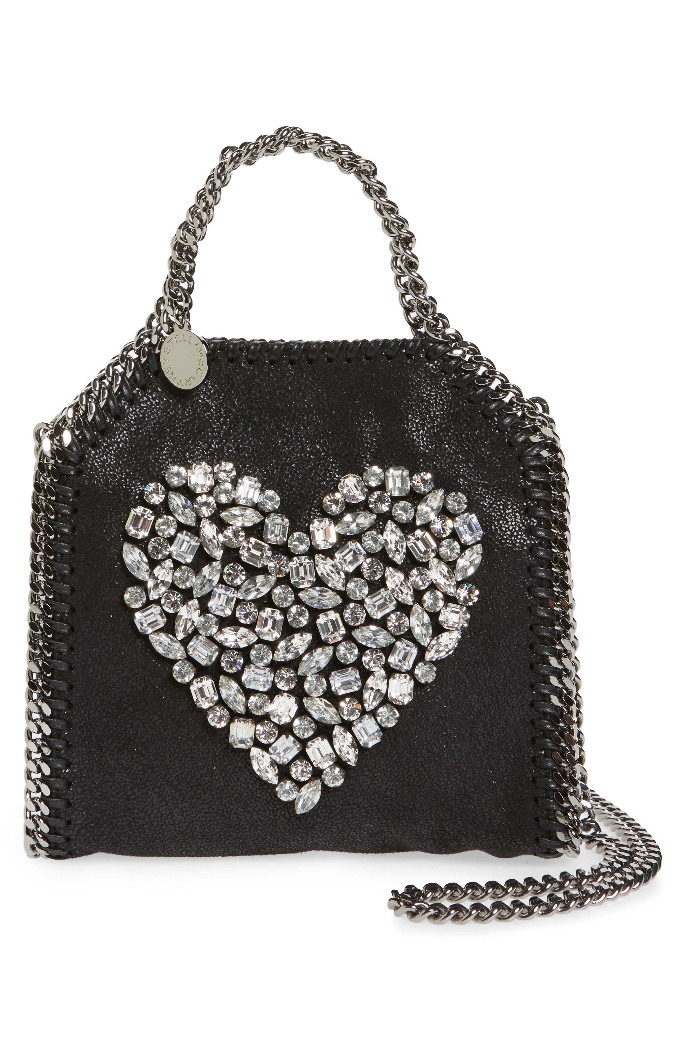 Stella McCartney Tiny Falabella Faux Leather Crossbody Bag