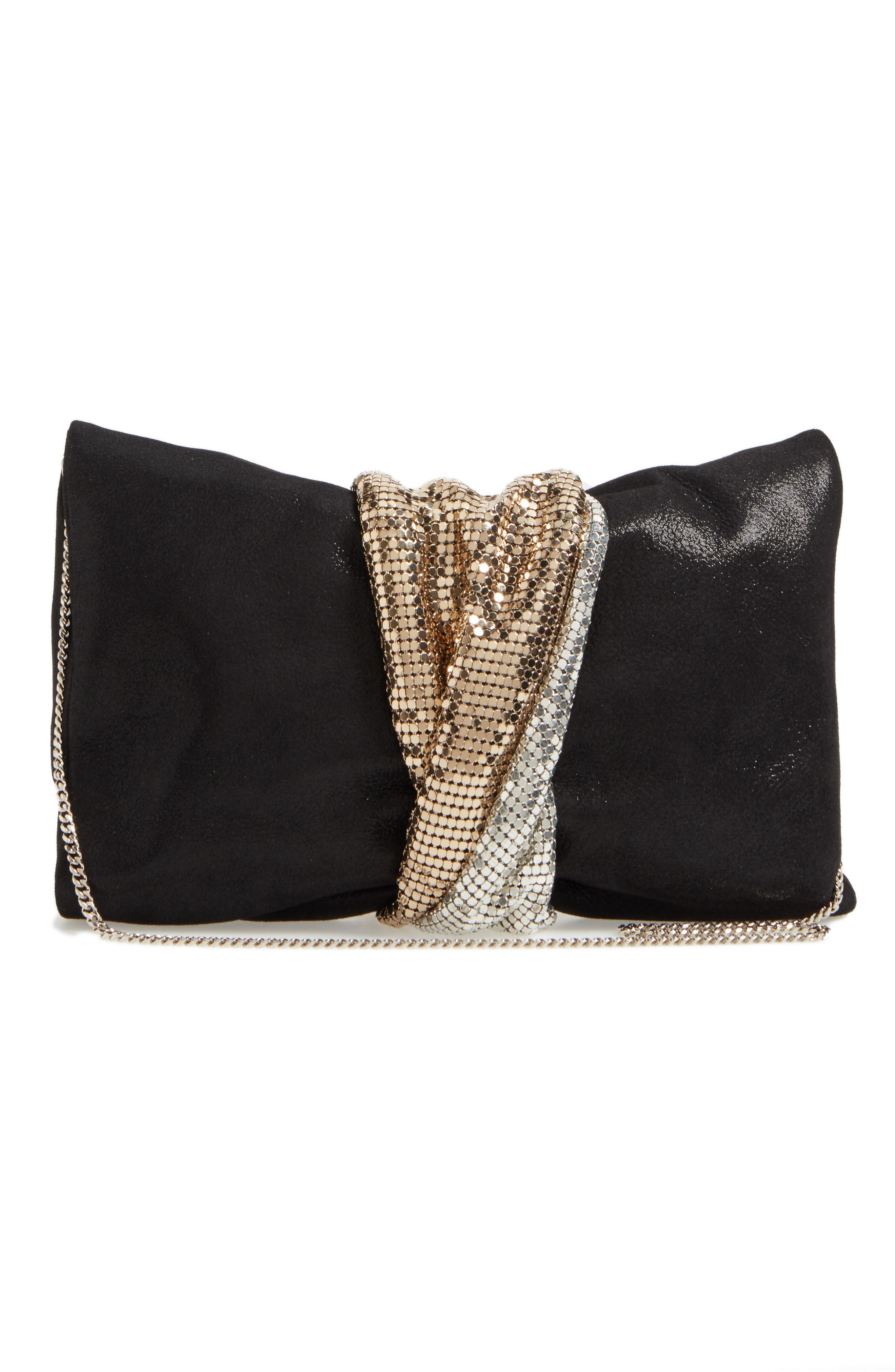 Alternate Image 2  - Jimmy Choo Chandra Shimmer Suede Clutch
