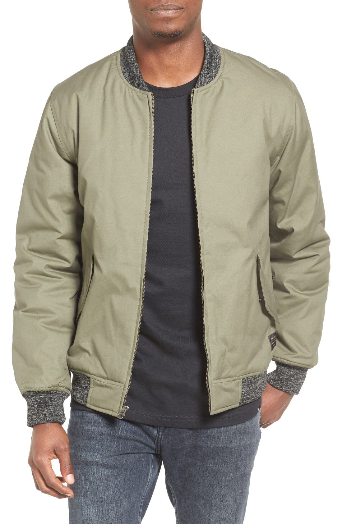 Quiksilver Mixing Time Bomber Jacket