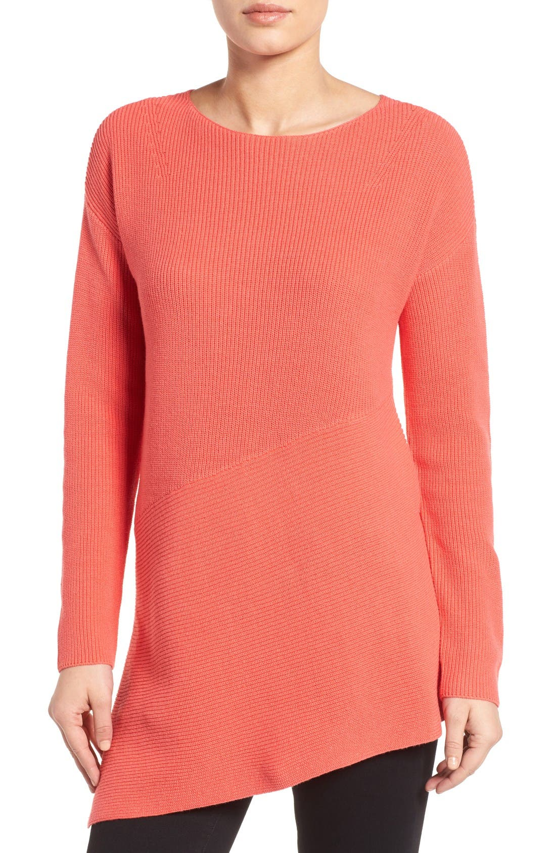 Alternate Image 1 Selected - Chaus Asymmetrical Pullover