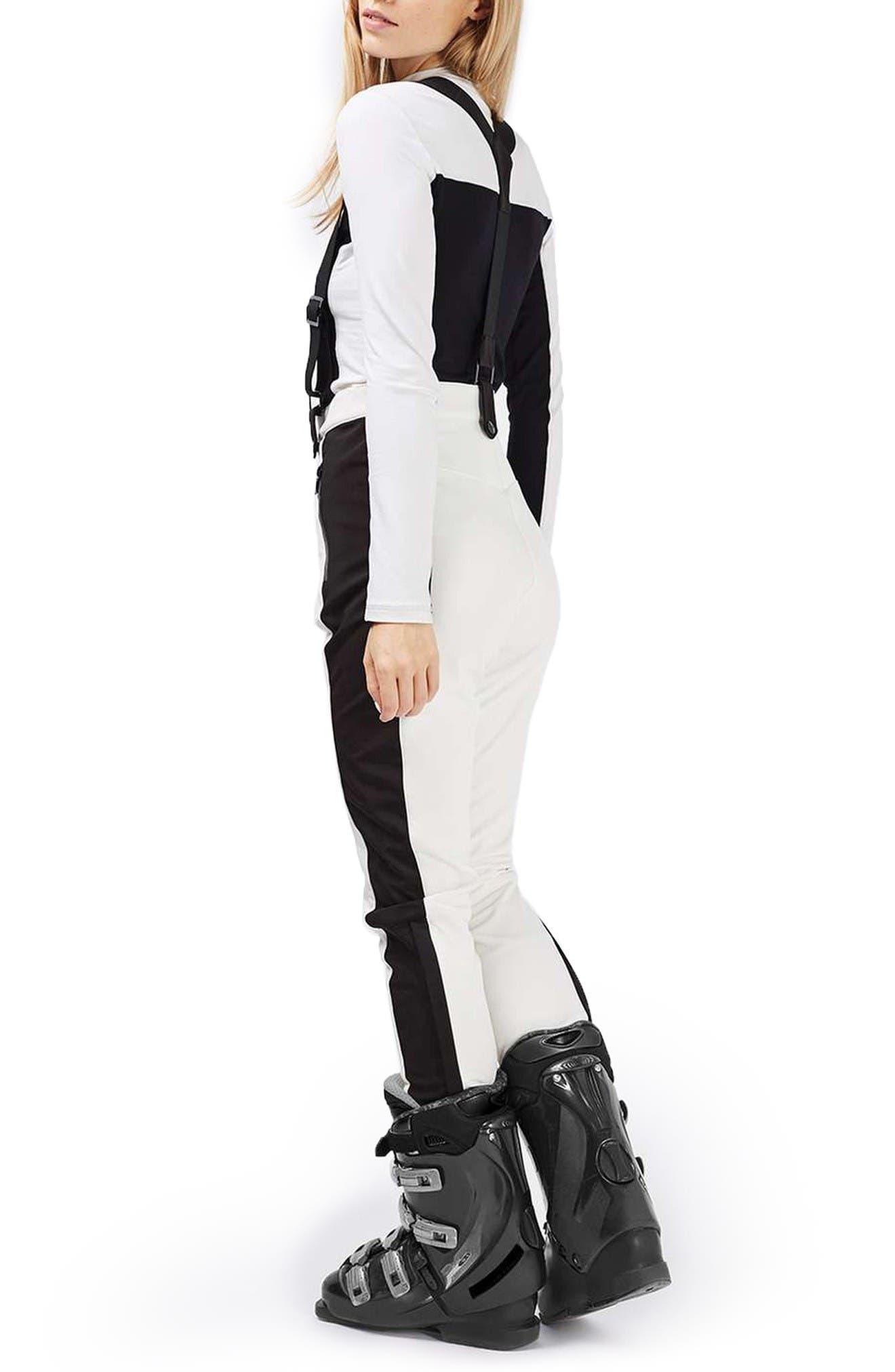 Alternate Image 2  - Topshop Ziggy Skinny Fit Snow Pants