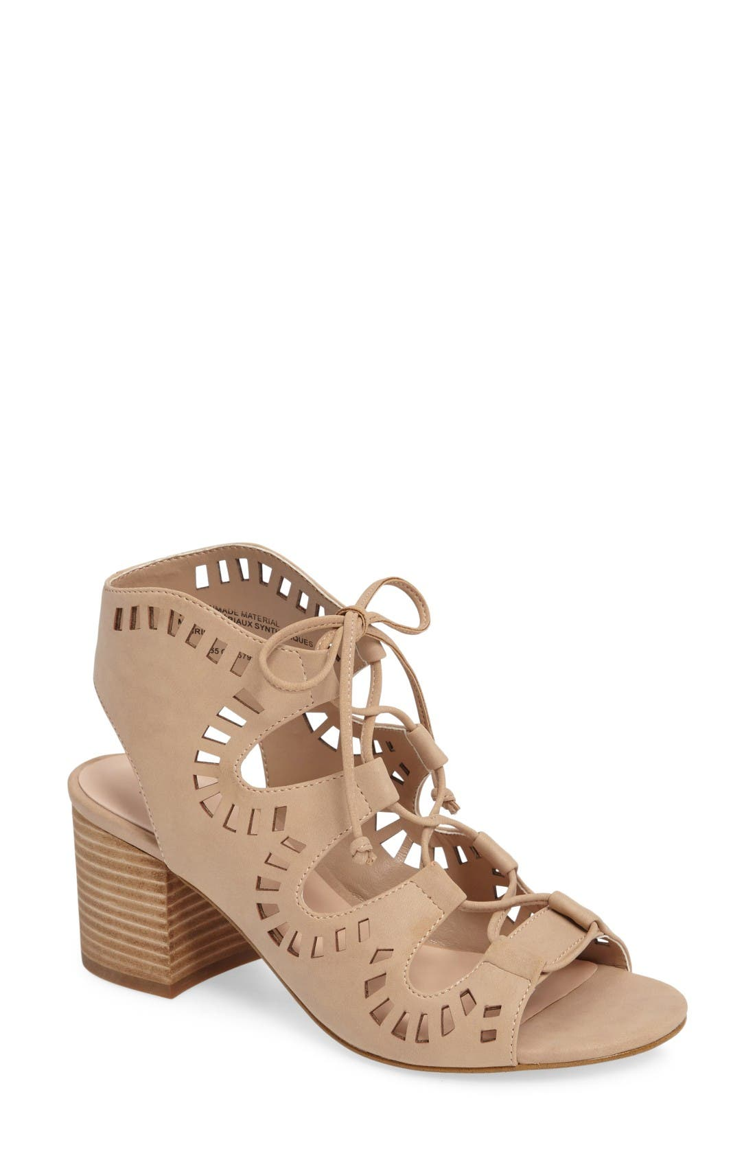 Alternate Image 1 Selected - BP. Decker Lace-Up Sandal (Women)