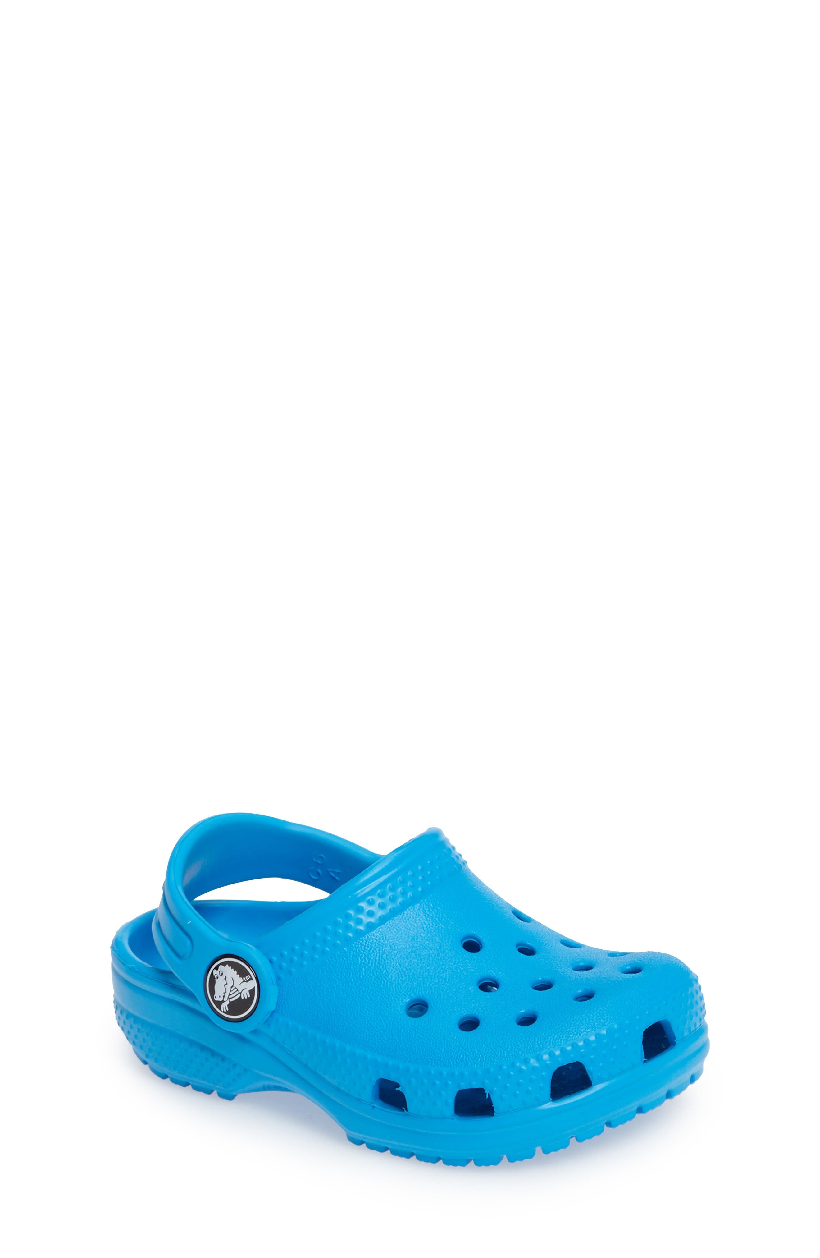CROCS™ Classic Clog Sandal (Walker, Toddler & Little Kid)