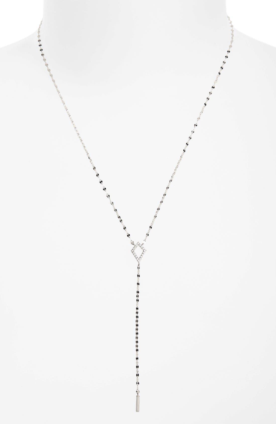 Lana Jewelry Flawless Diamond Kite Y-Necklace
