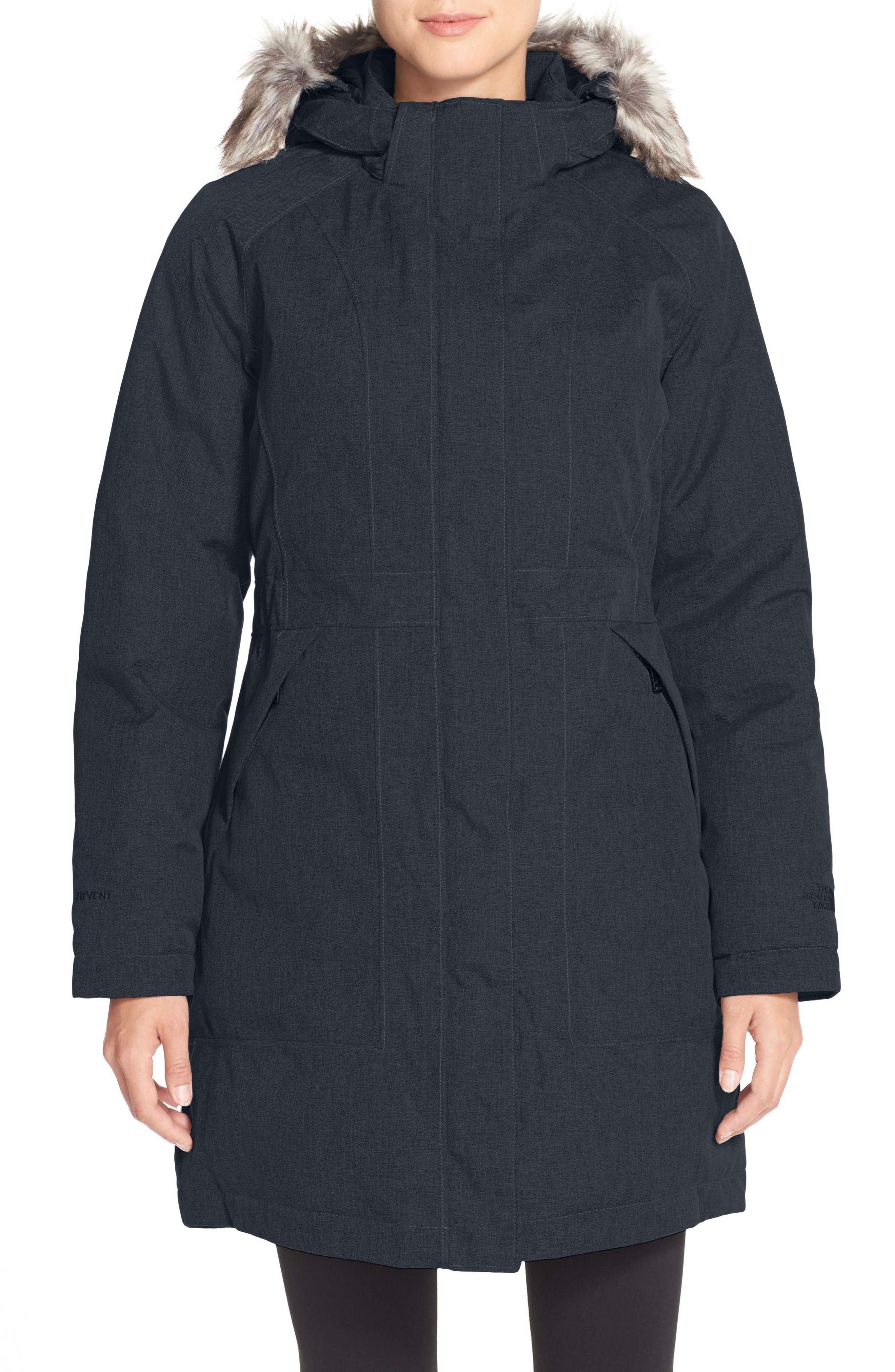 Alternate Image 1 Selected - The North Face Arctic Down Parka with Faux Fur Trim