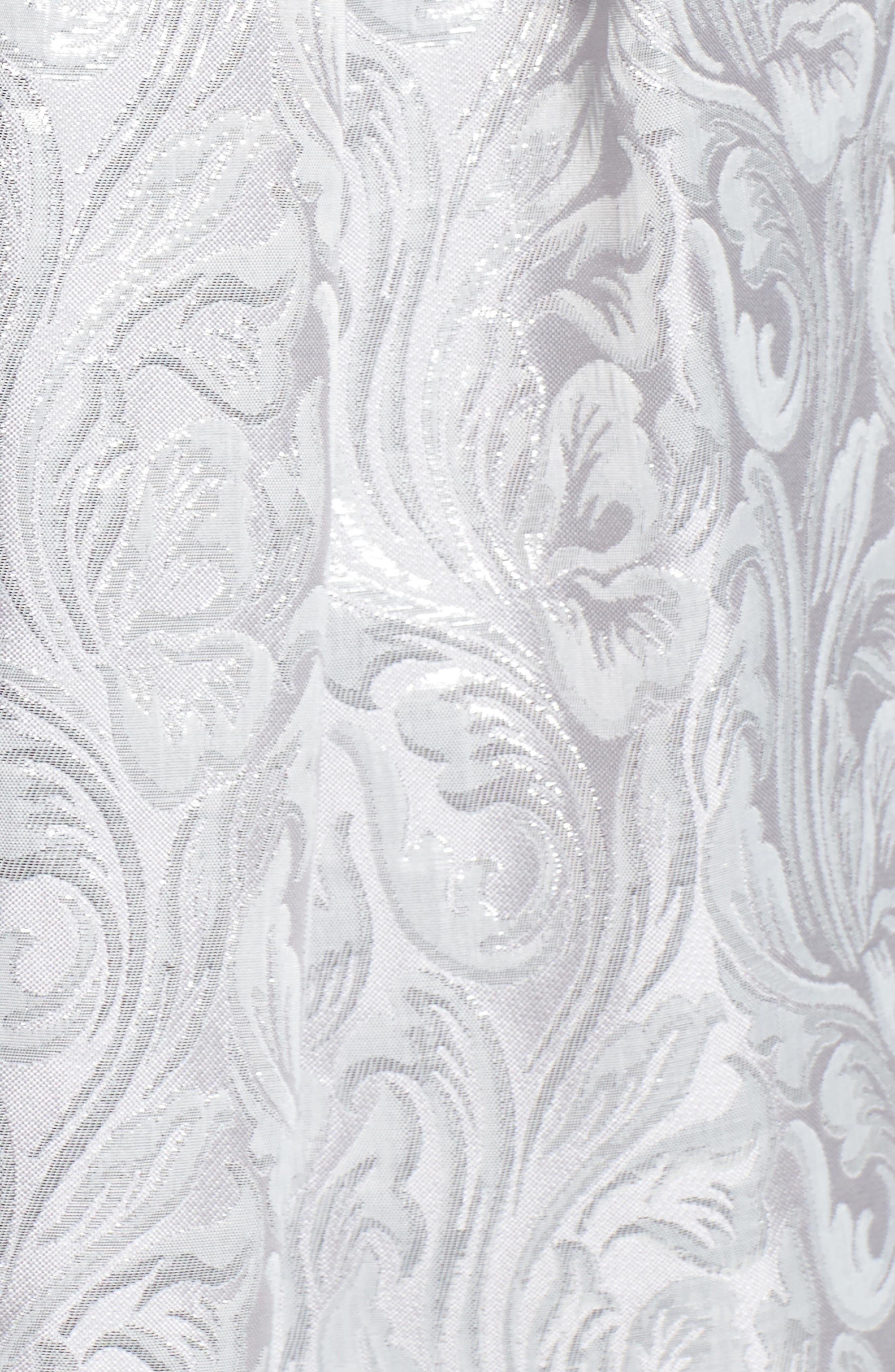 Alternate Image 5  - Eliza J Jacquard Fit & Flare Dress