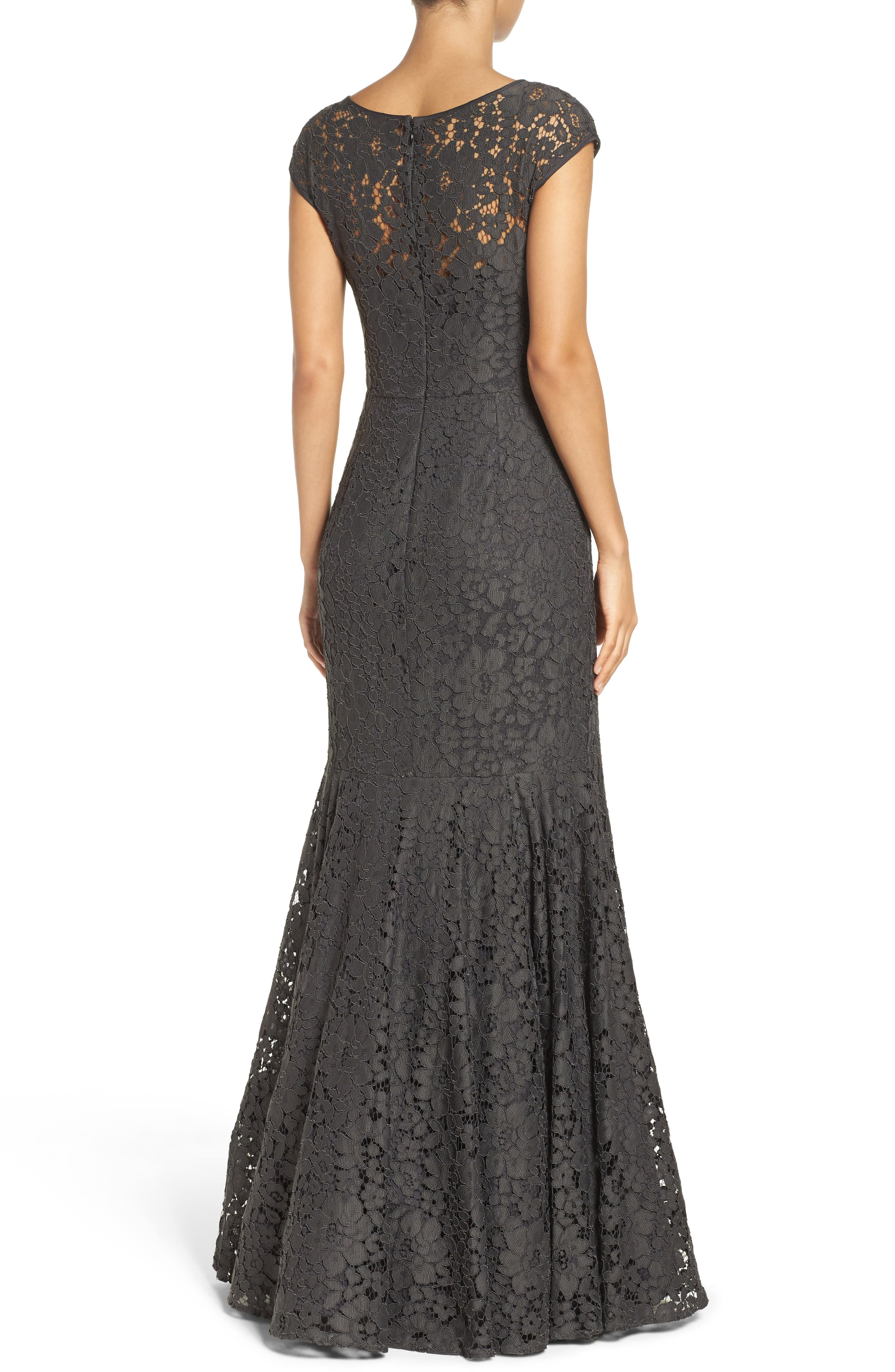 Alternate Image 2  - Vera Wang Mermaid Gown