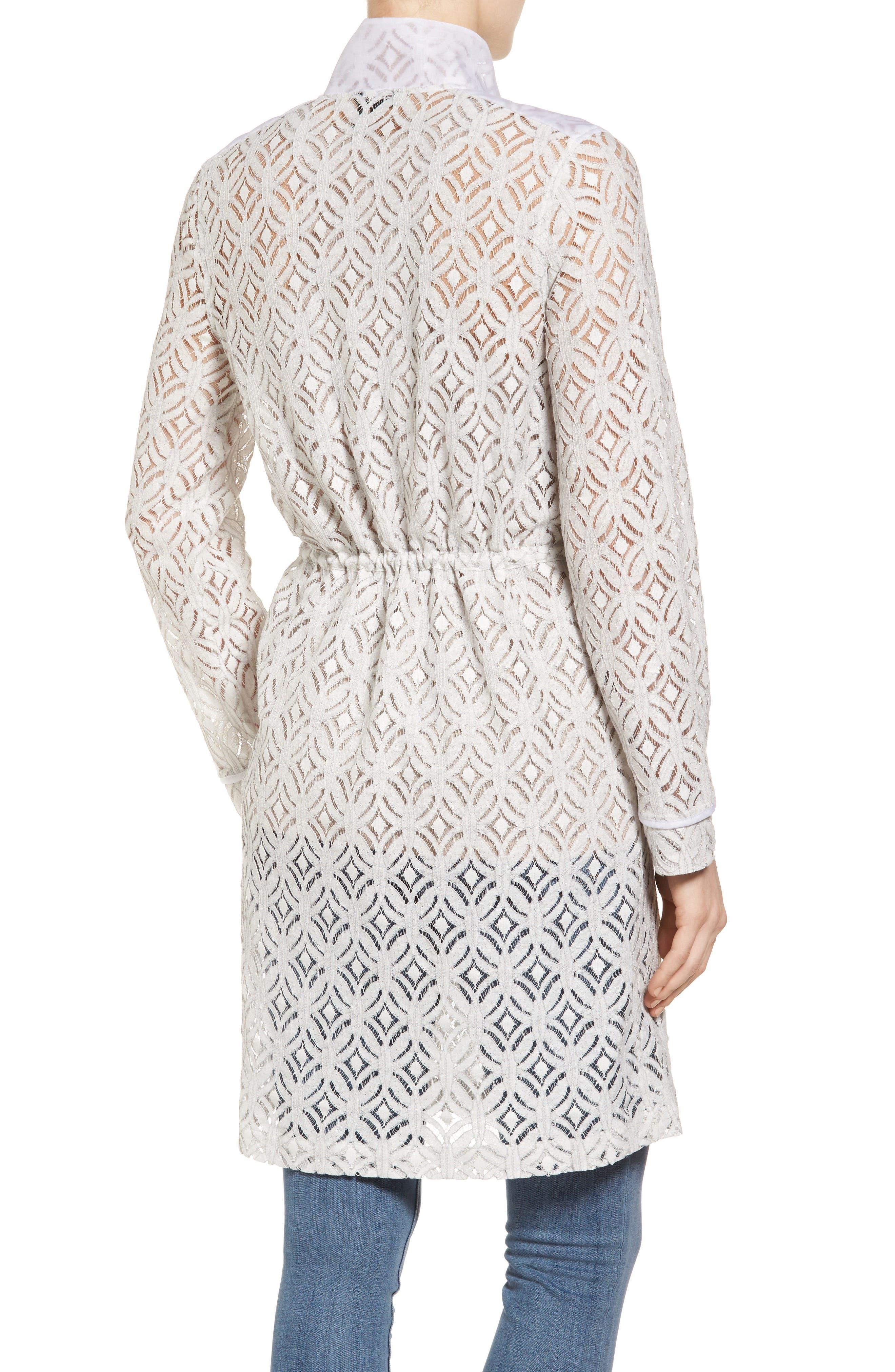 Alternate Image 2  - NIC+ZOE Lush Lace Coat