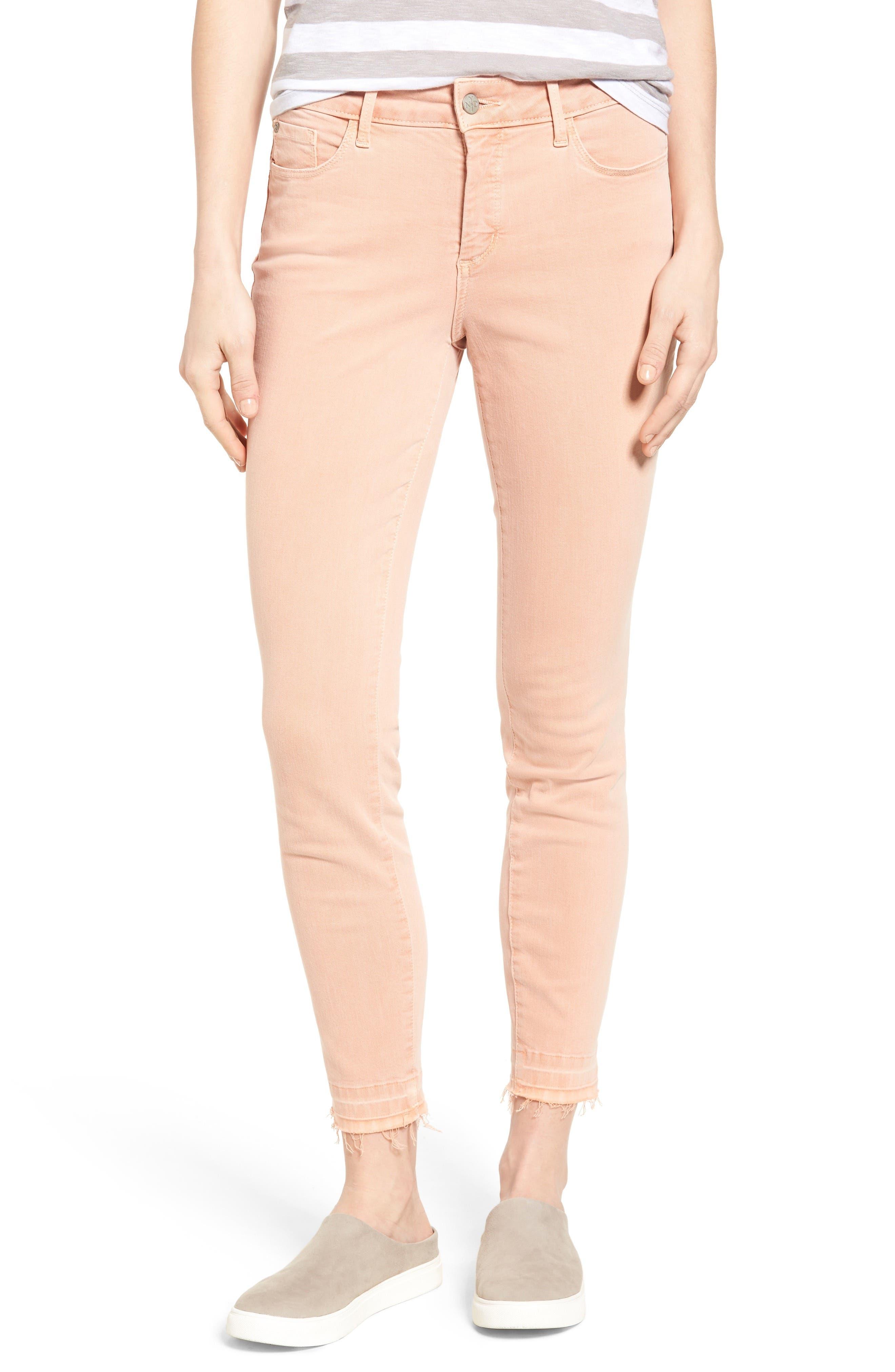 Alternate Image 1 Selected - NYDJ Ami Release Hem Stretch Skinny Jeans (Regular & Petite)